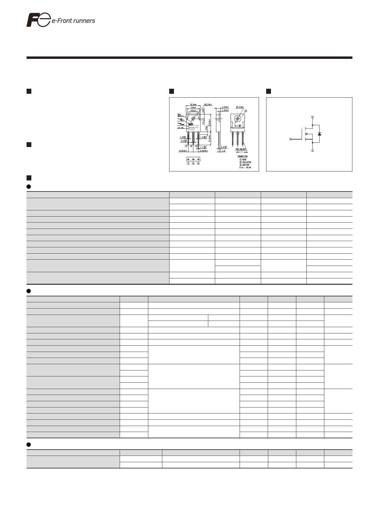 FMH19N60ES دیتاشیت PDF
