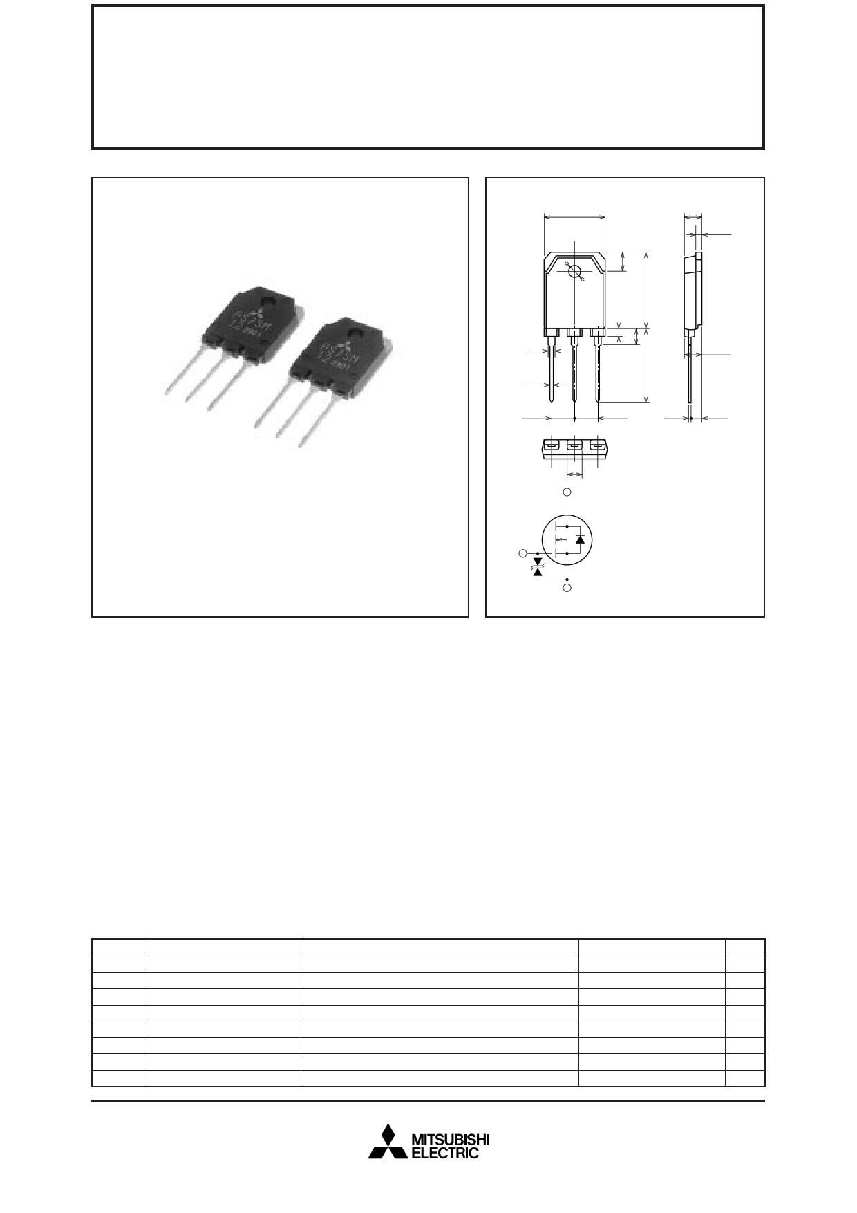 FS7SM-12 datasheet