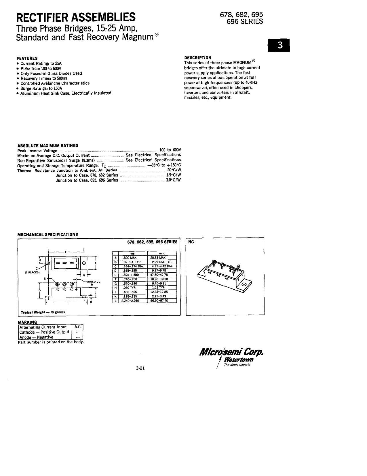 678-1 دیتاشیت PDF