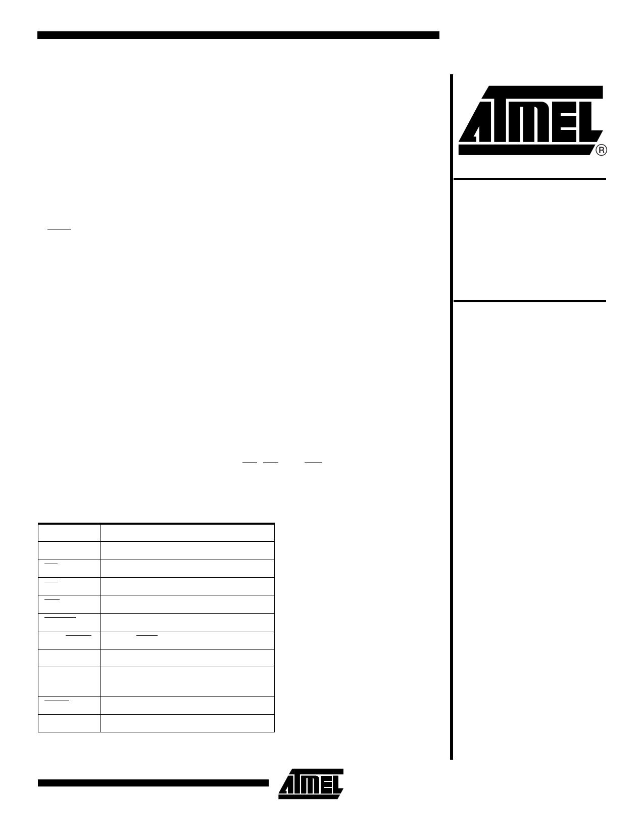 AT49F004T دیتاشیت PDF