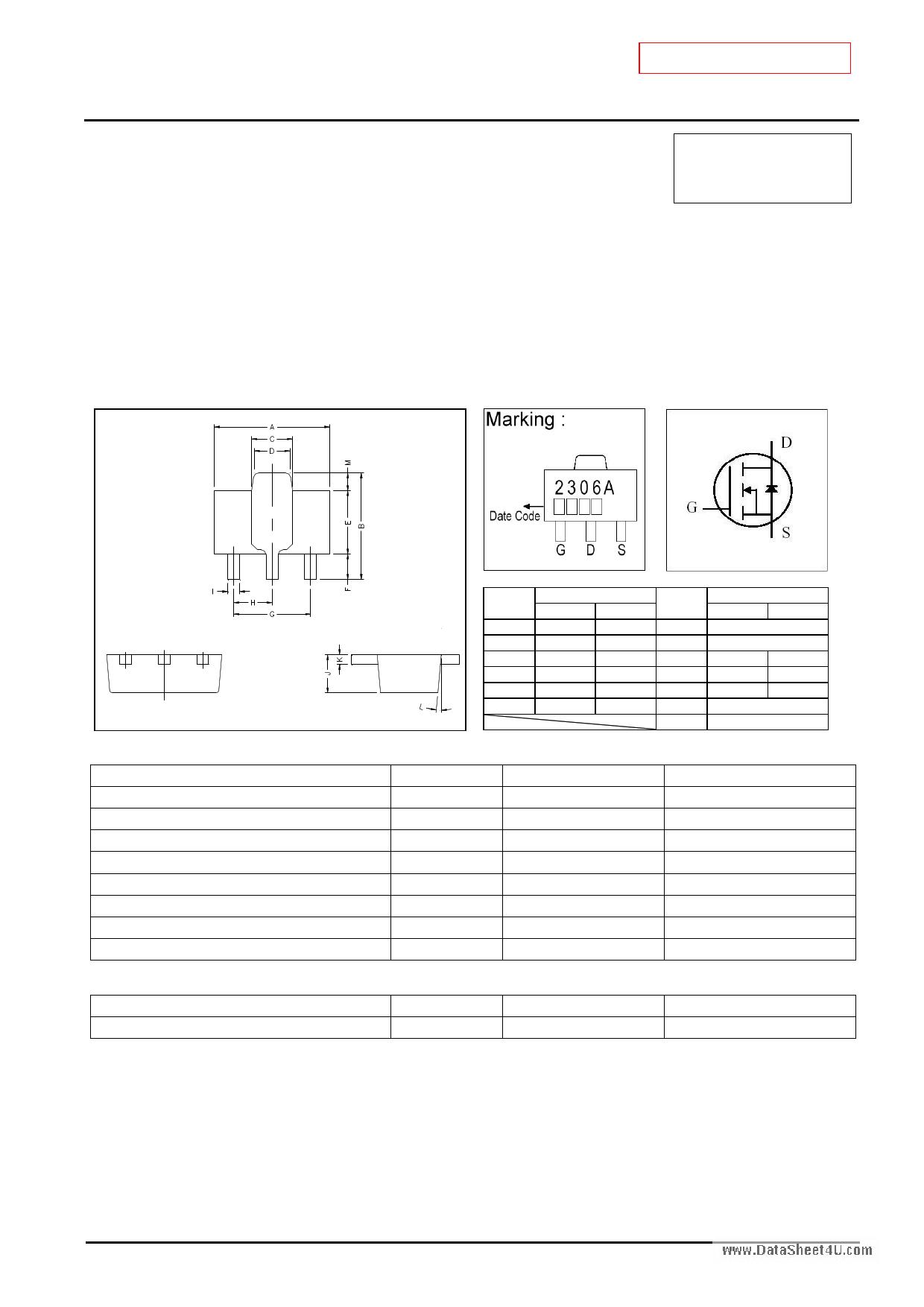GM2306A دیتاشیت PDF