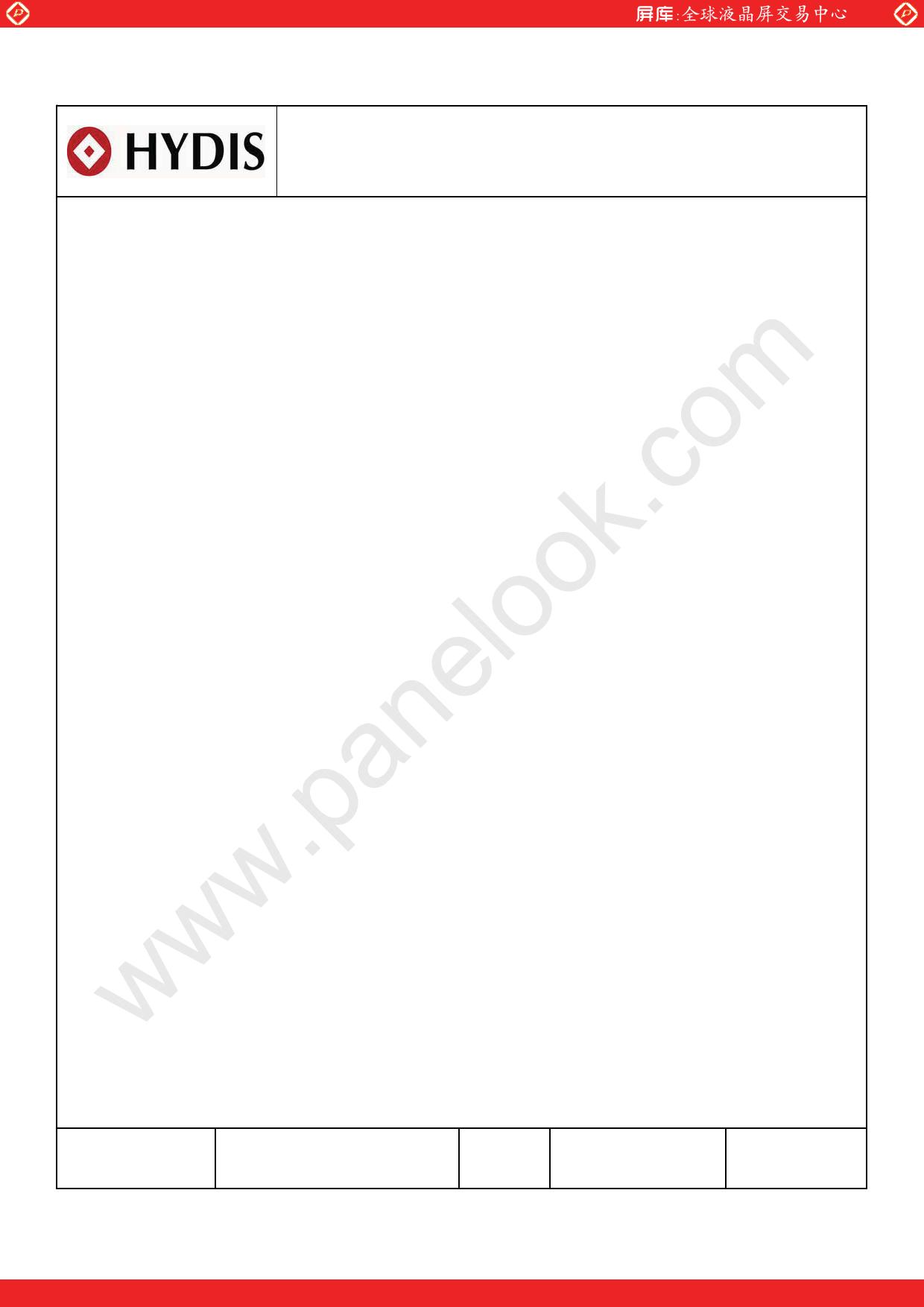 HV121WX5-110 Datasheet, HV121WX5-110 PDF,ピン配置, 機能
