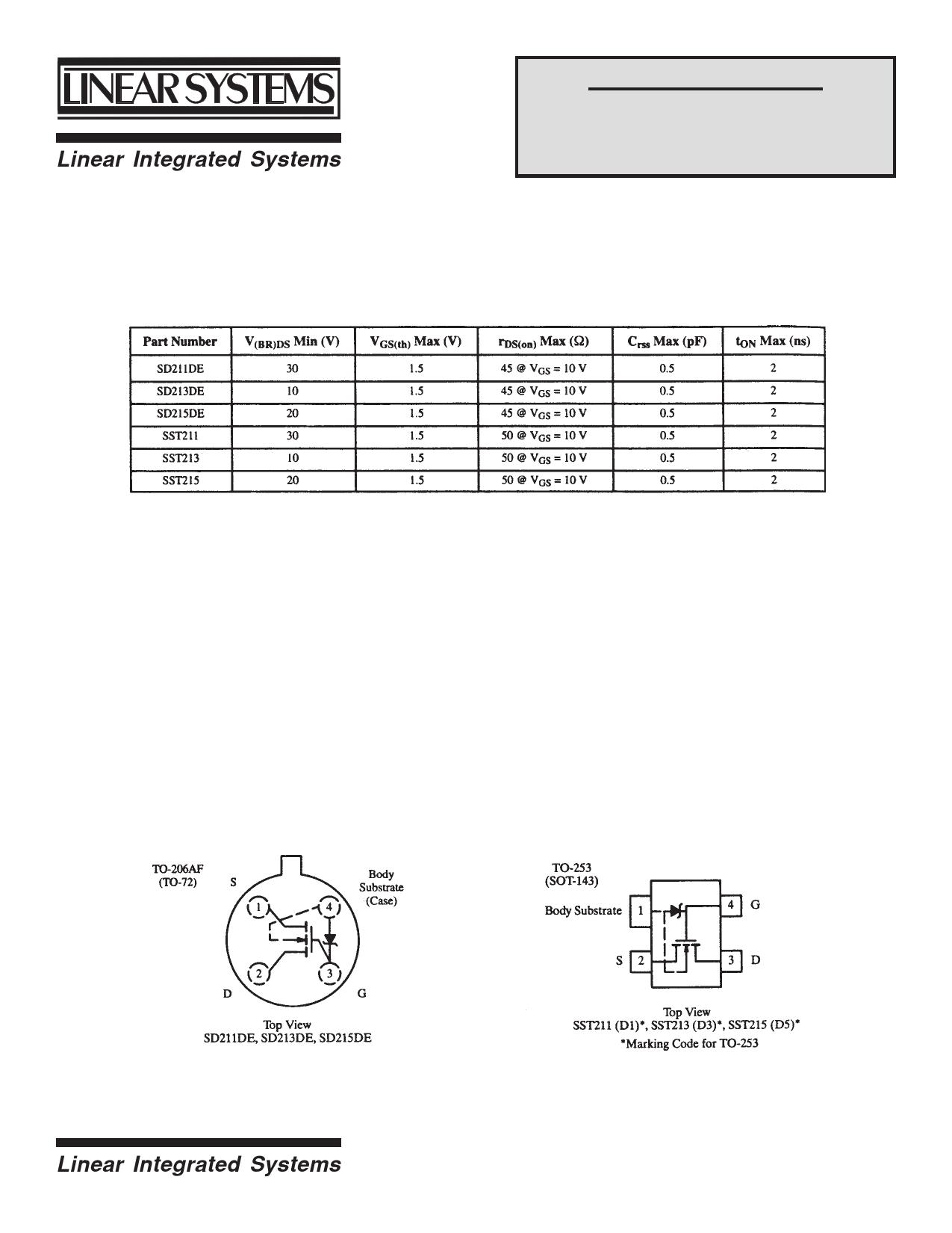 SD215 دیتاشیت PDF