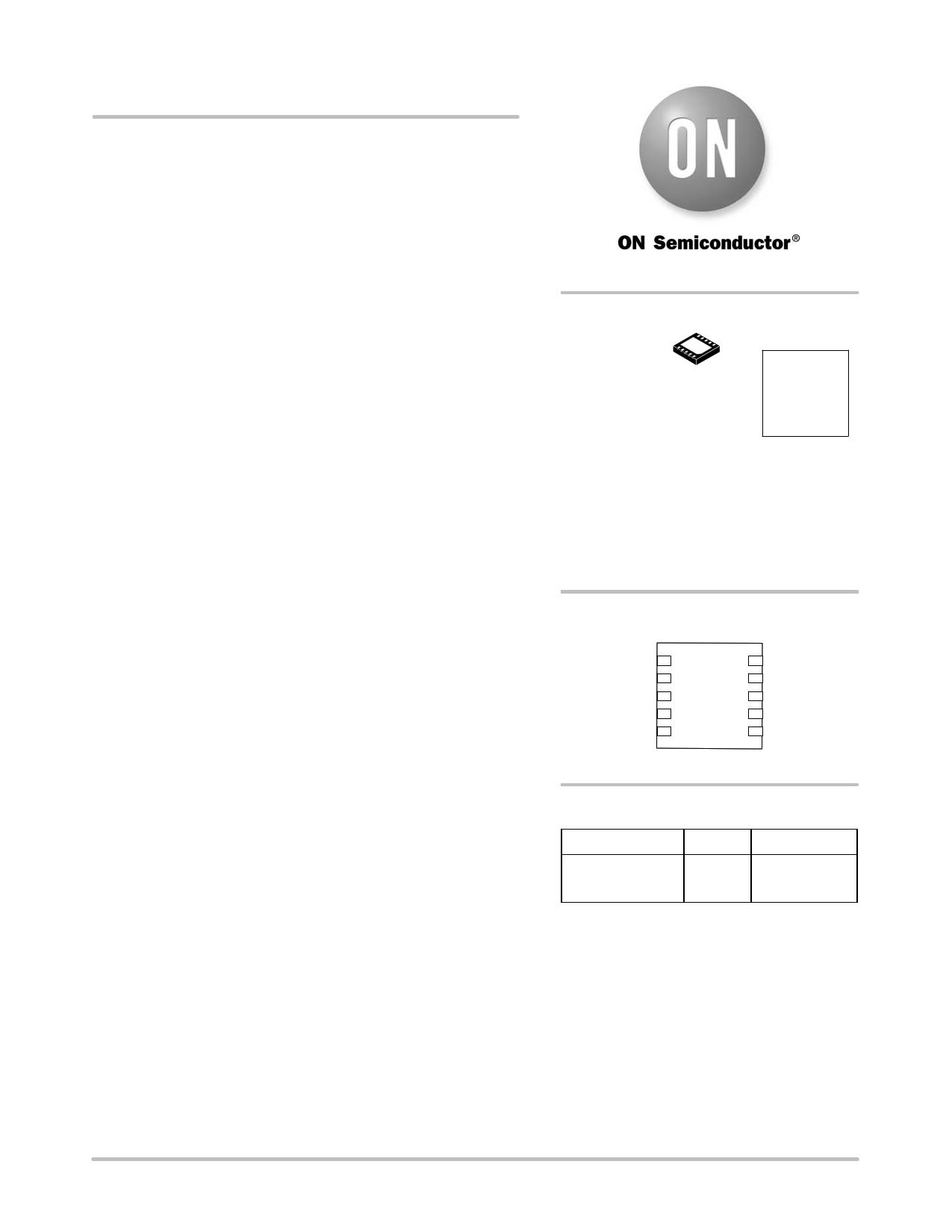 NCP1526 دیتاشیت PDF