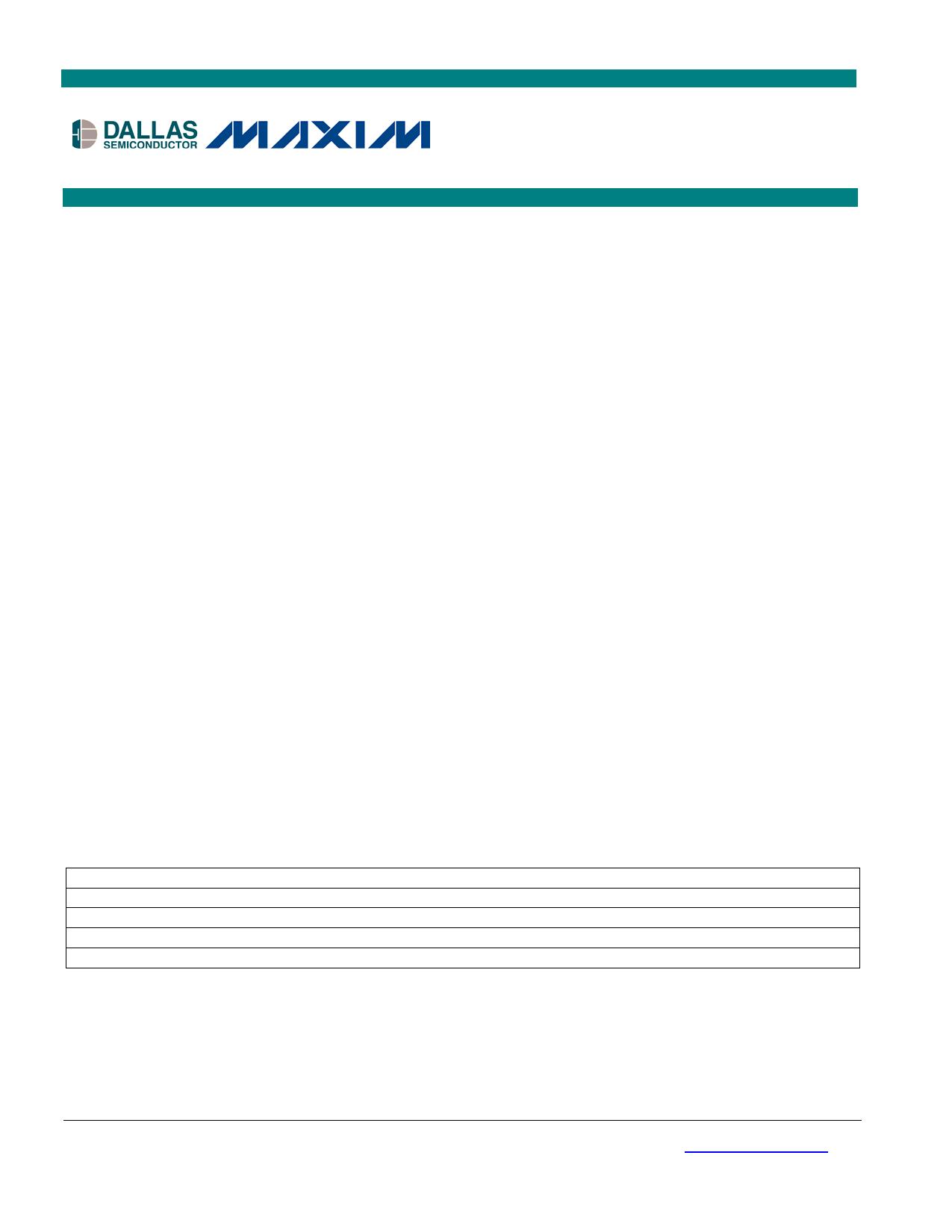 DS28DG02 دیتاشیت PDF