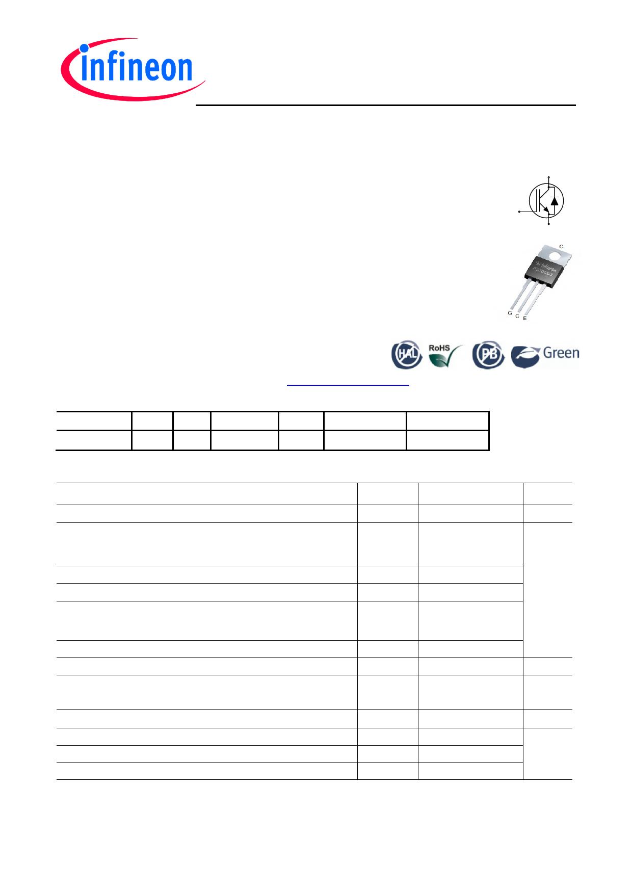 IKP04N60T Datasheet, IKP04N60T PDF,ピン配置, 機能
