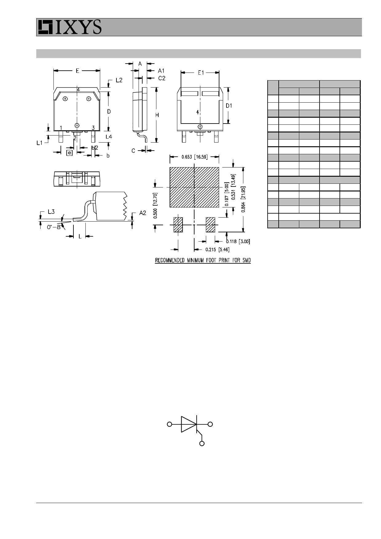 CLA50E1200TC pdf, 반도체, 판매, 대치품