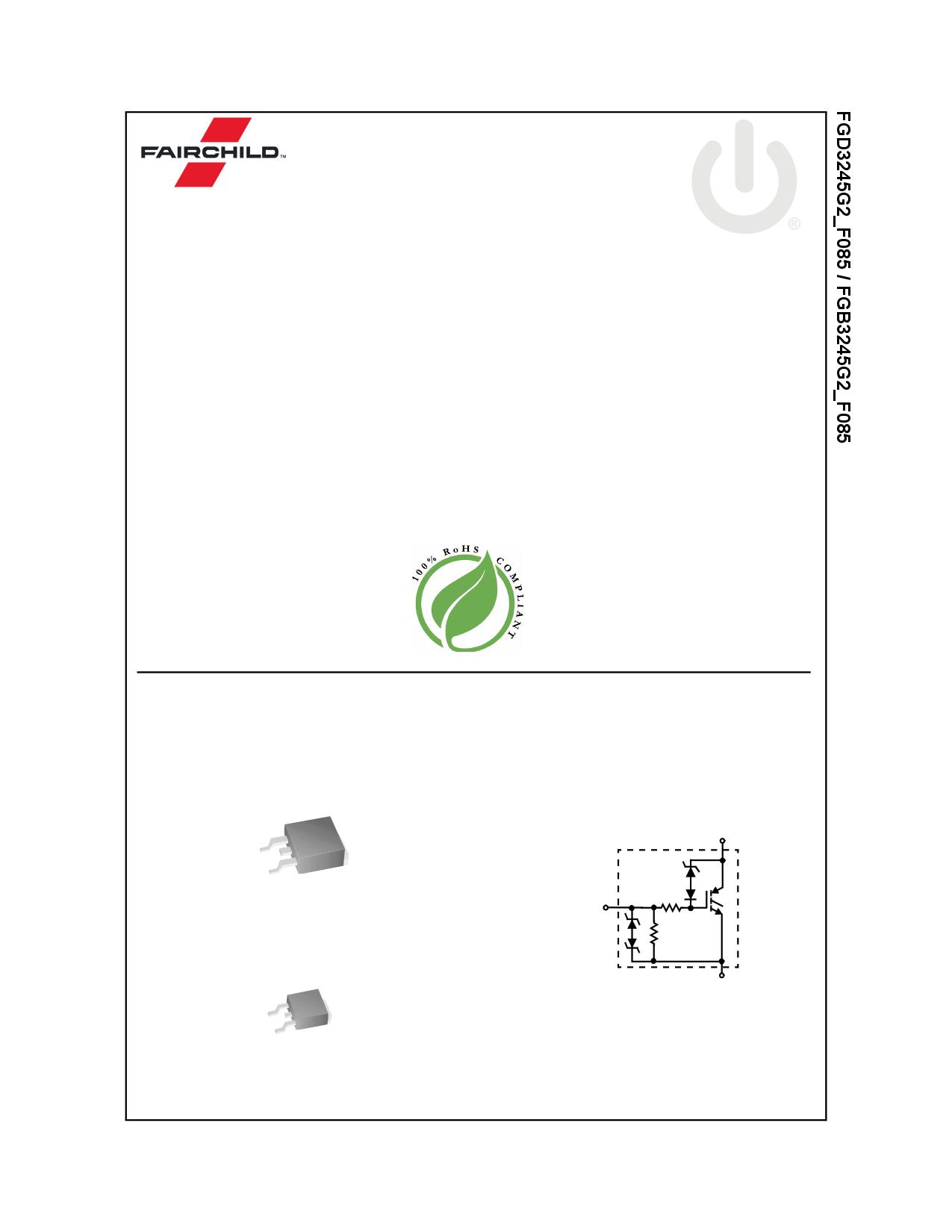 FGD3245G2_F085 데이터시트 및 FGD3245G2_F085 PDF