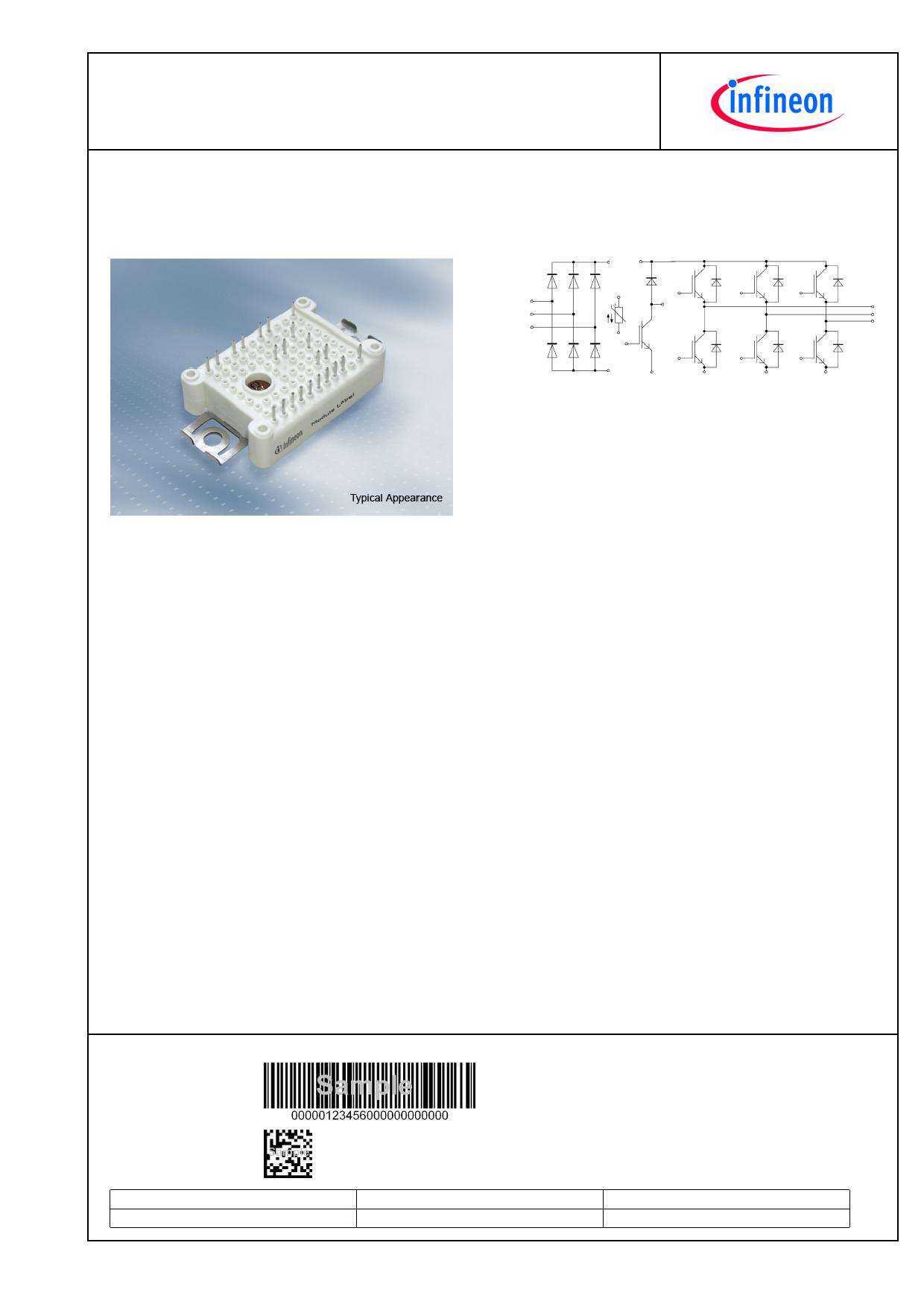 FP30R06W1E3 Datasheet, FP30R06W1E3 PDF,ピン配置, 機能