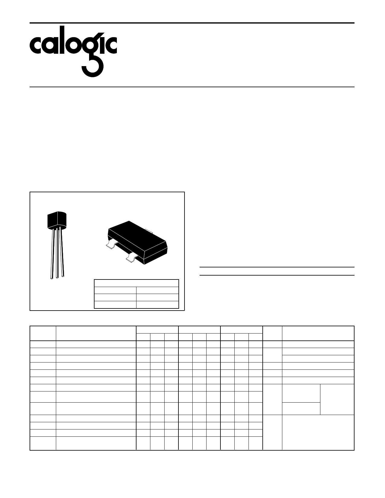 J109 datasheet