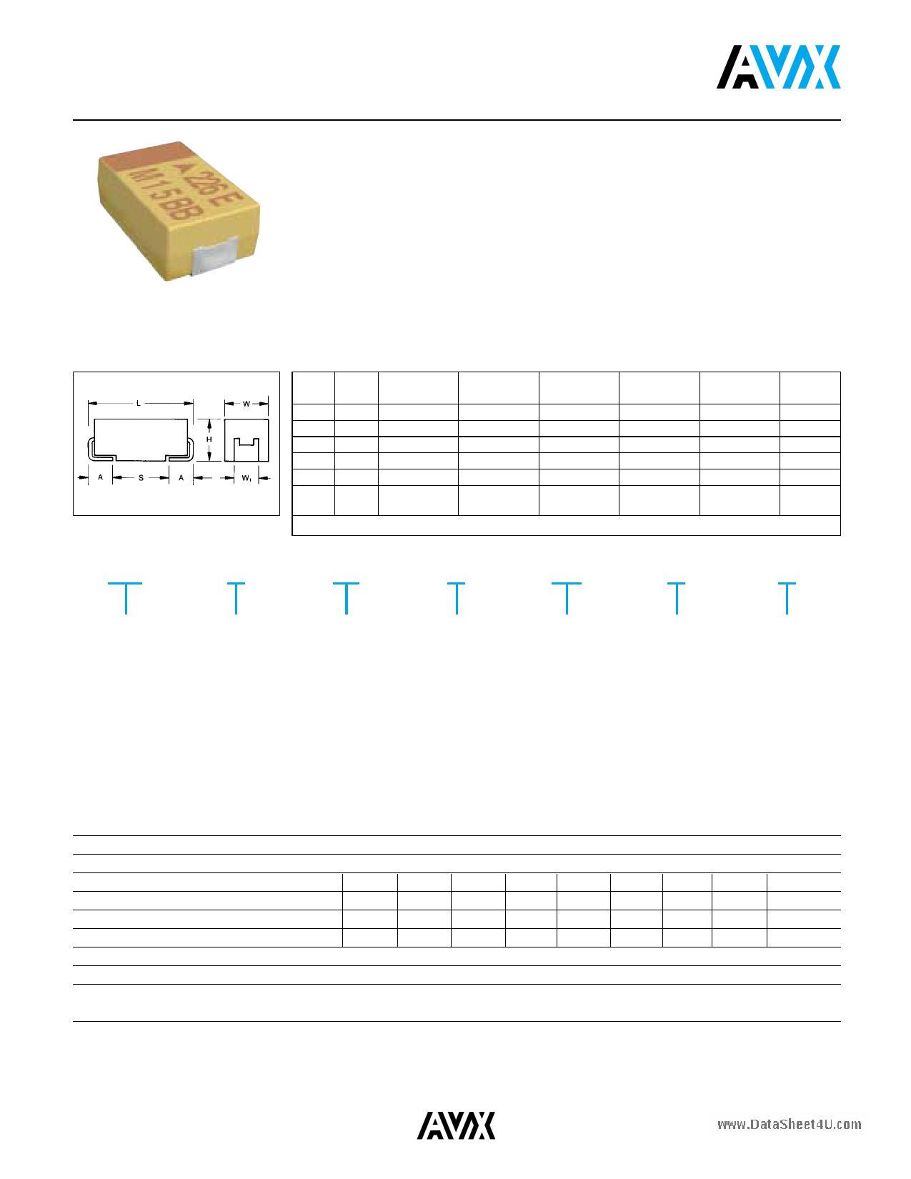 TAJA475x010 دیتاشیت PDF