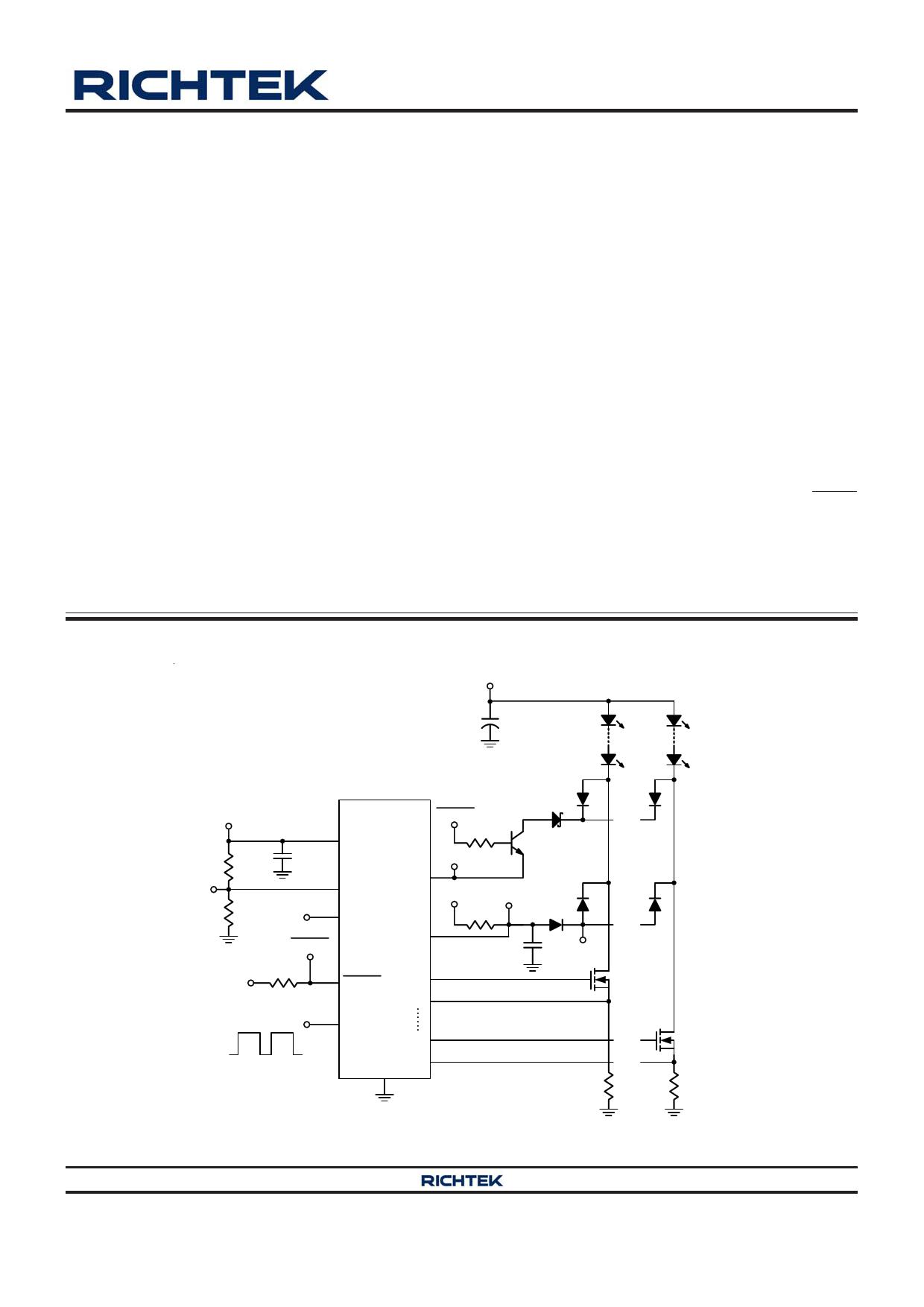 rt6032a datasheet pdf   pinout