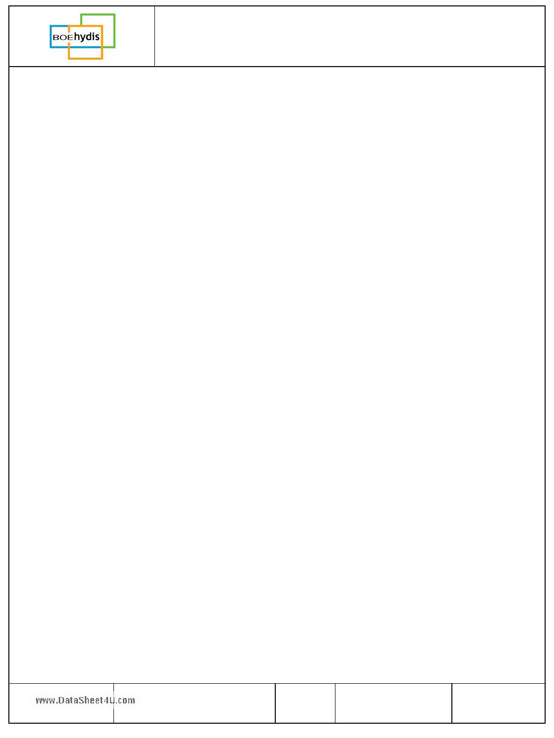HV056WX1-100 Datasheet, HV056WX1-100 PDF,ピン配置, 機能