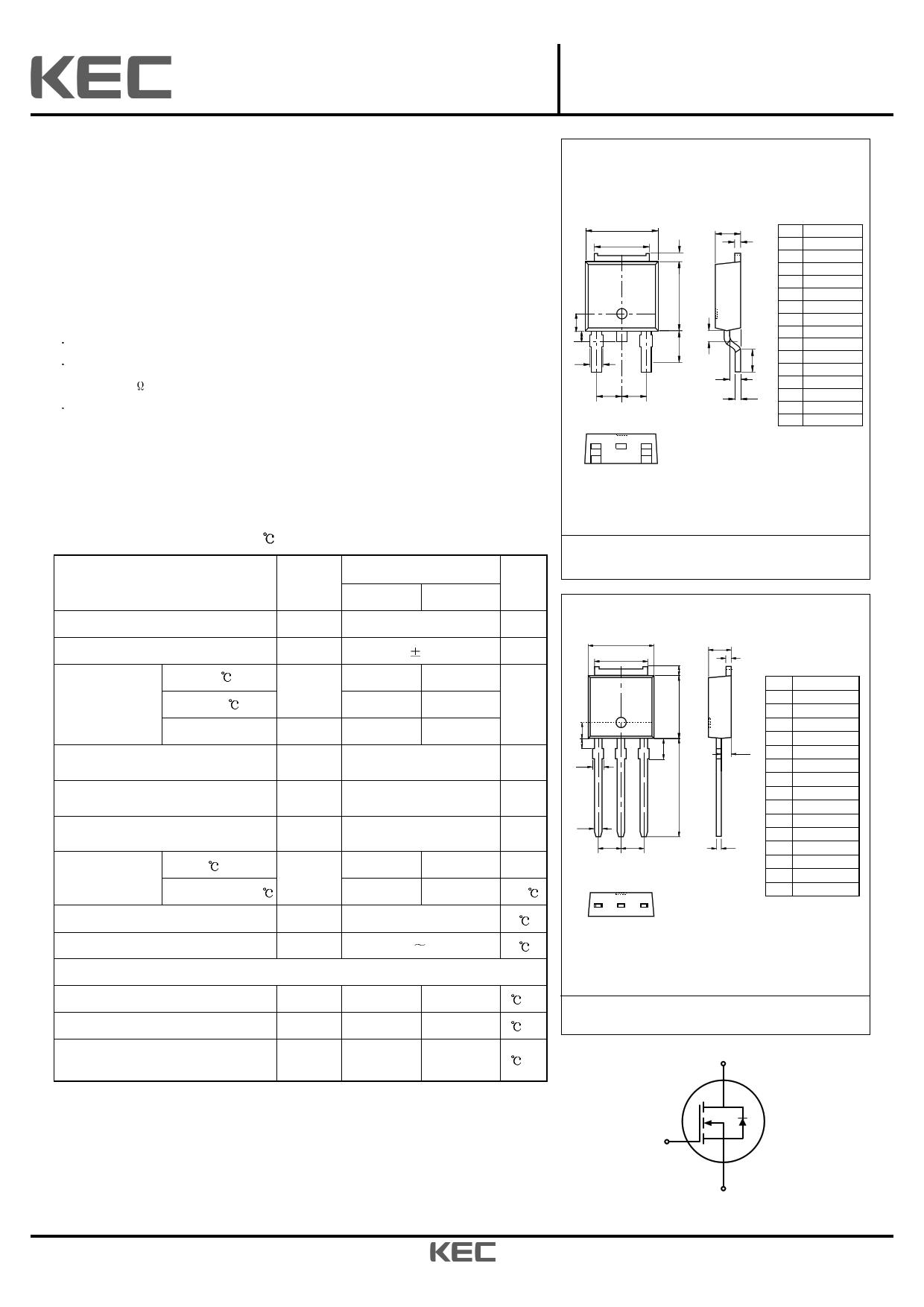 1D0N60D datasheet image