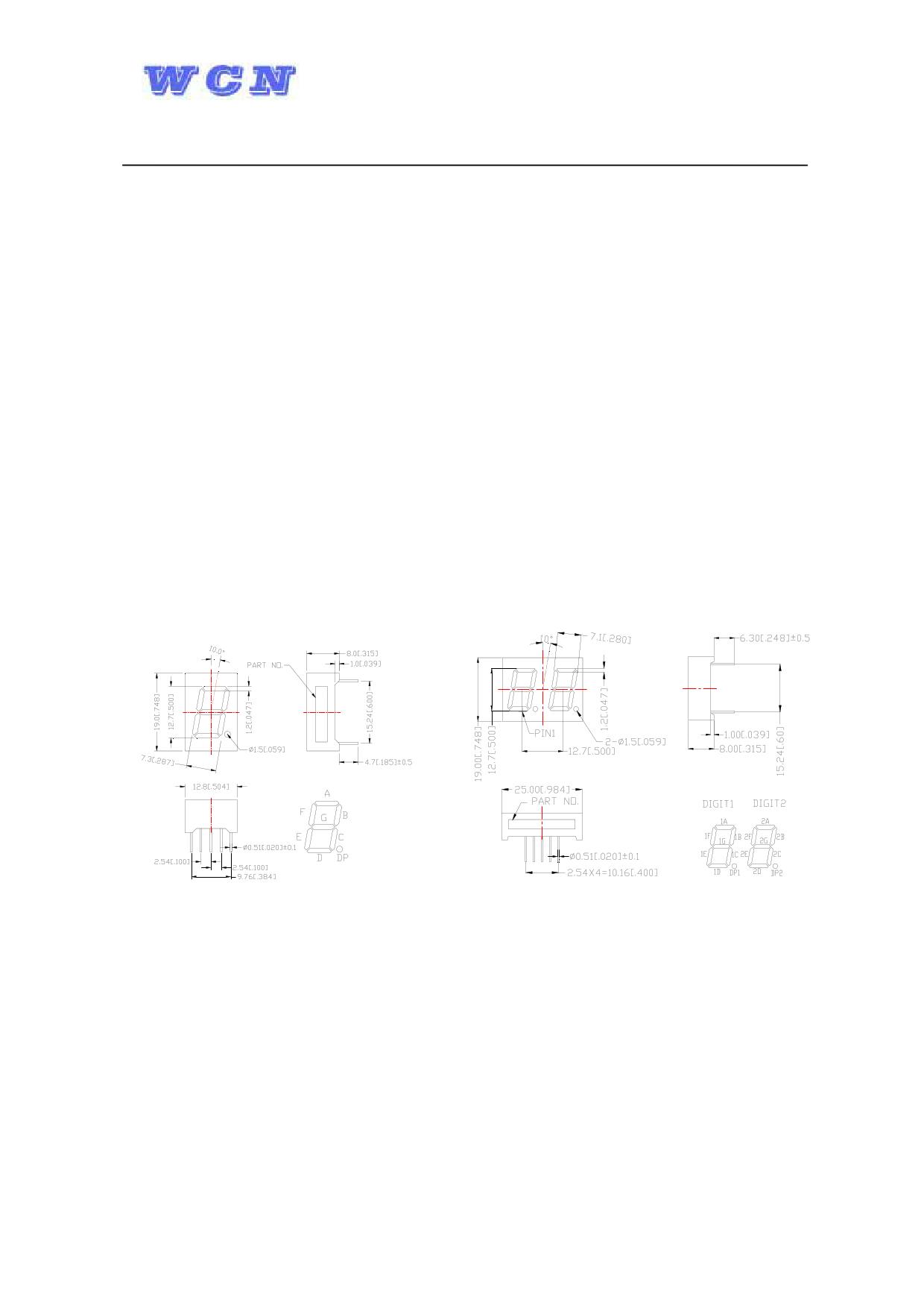 WCN3-0050GU-A11 datasheet