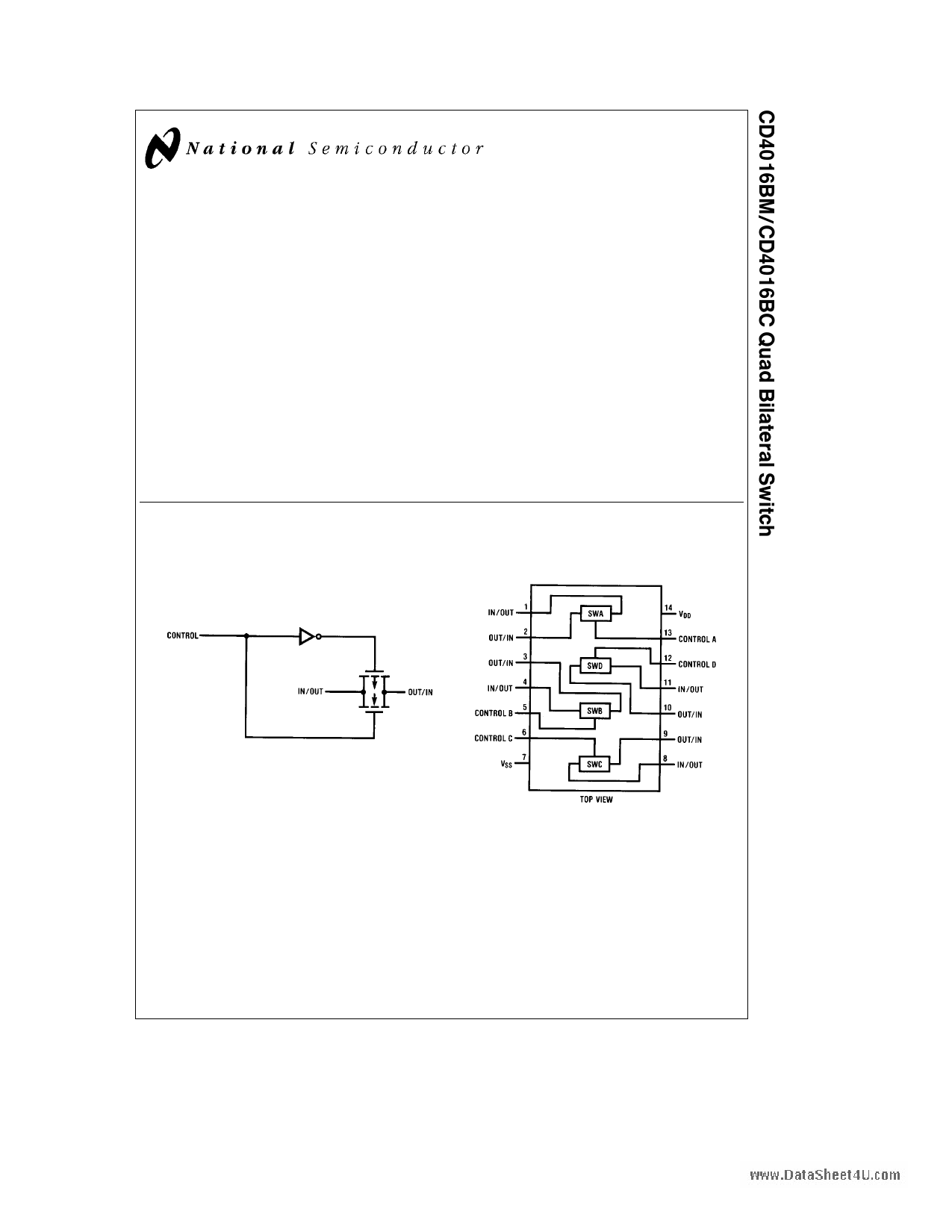 4016BM دیتاشیت PDF