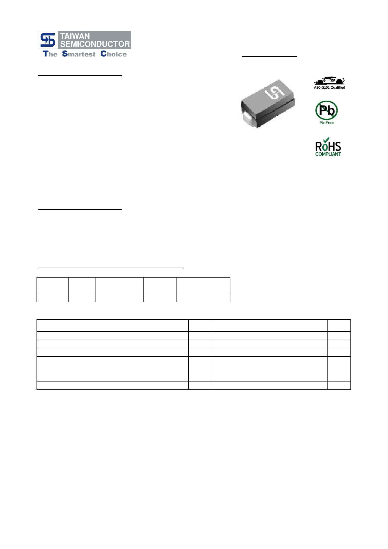 1SMA4746 datasheet