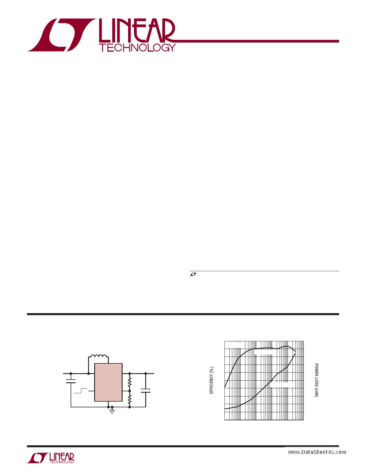 LTC3526 Datasheet, LTC3526 PDF,ピン配置, 機能