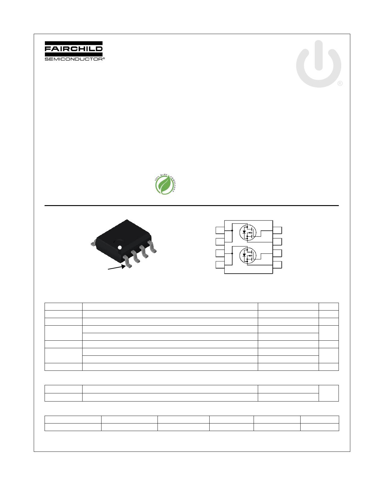 FDS8935 데이터시트 및 FDS8935 PDF