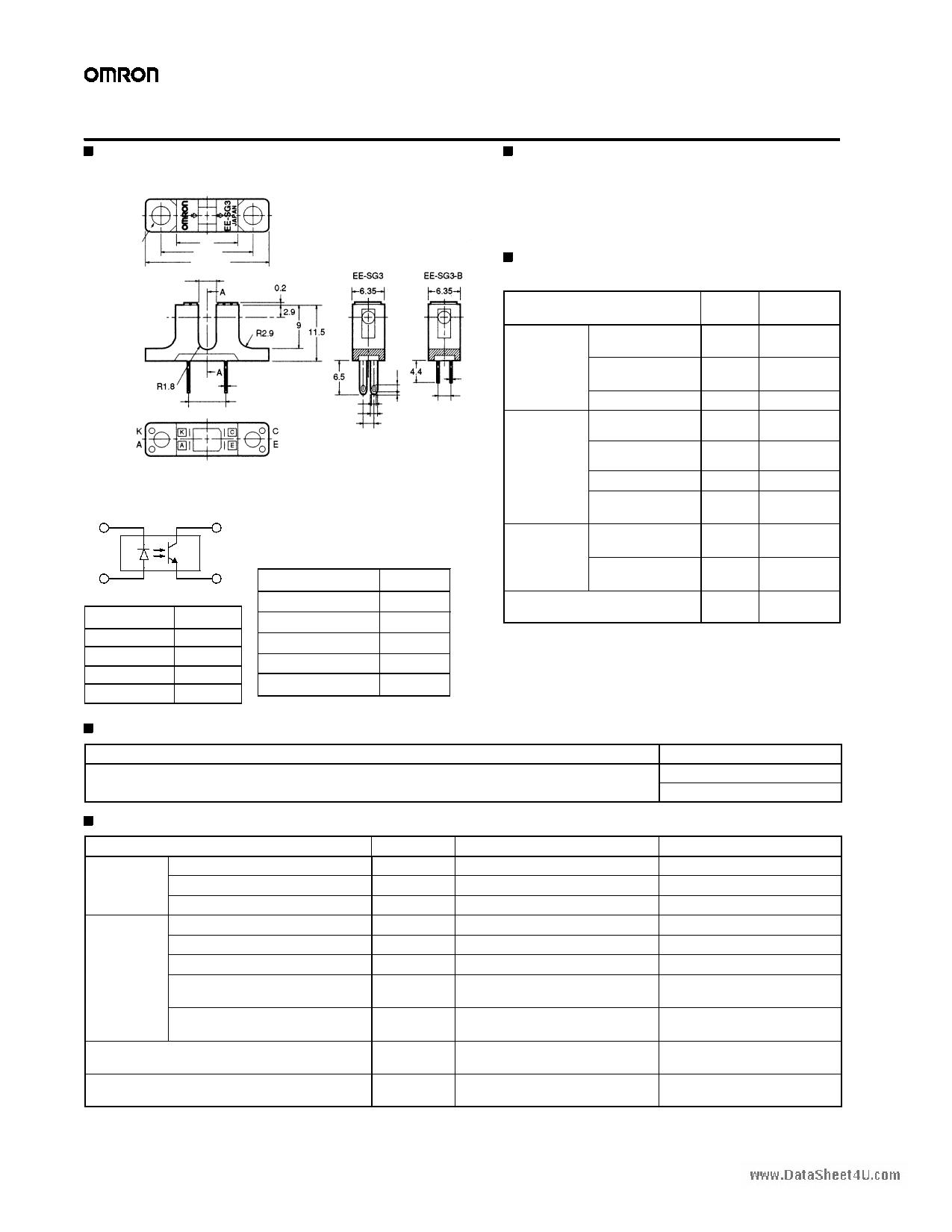 EE-SG3-B دیتاشیت PDF