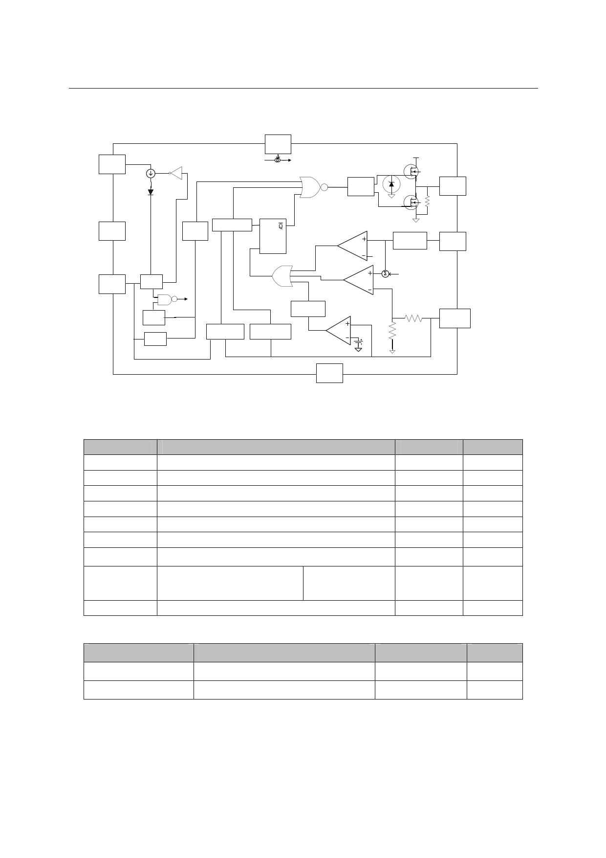 CR6845 pdf, ピン配列