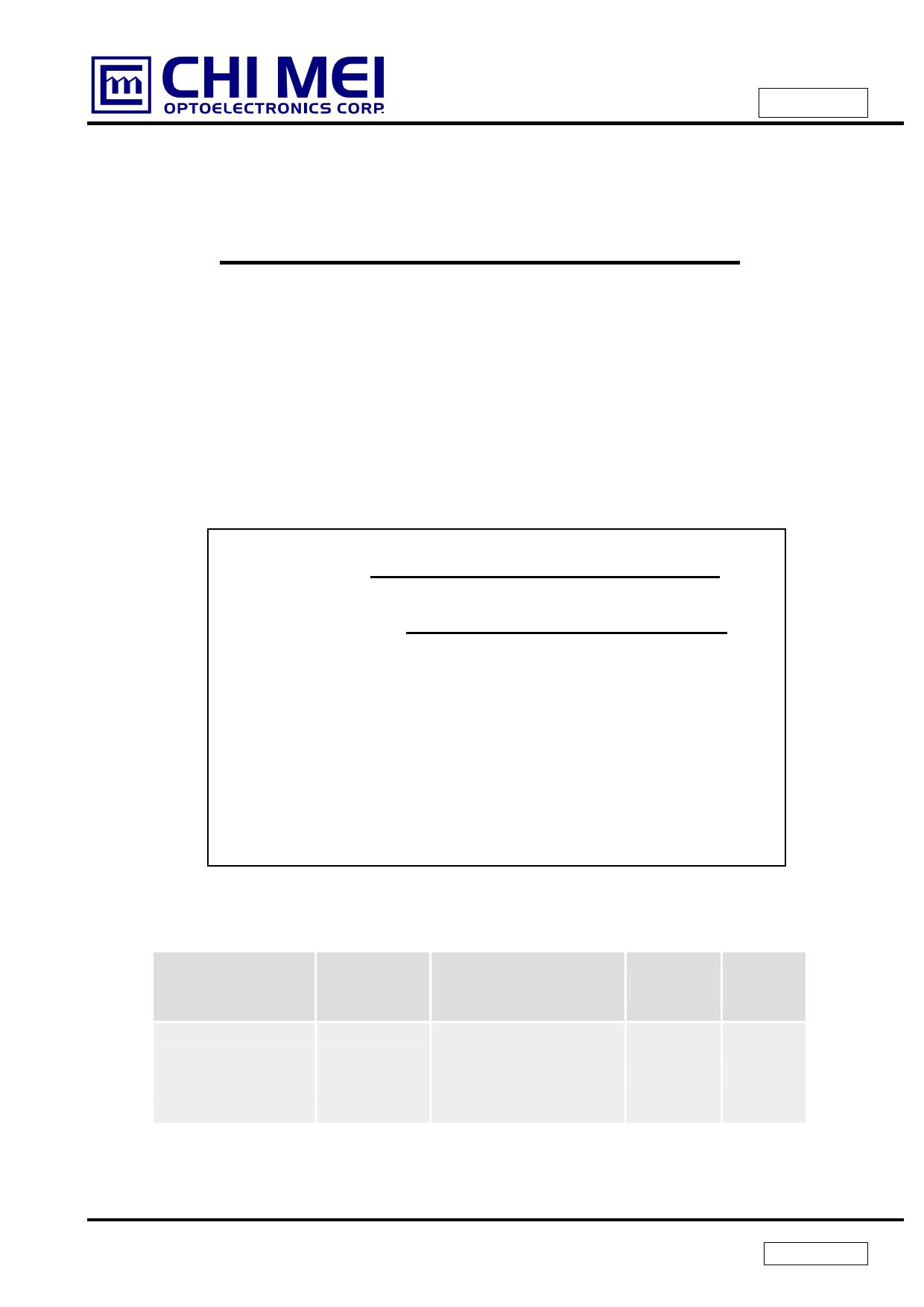 N101L6-L03 دیتاشیت PDF