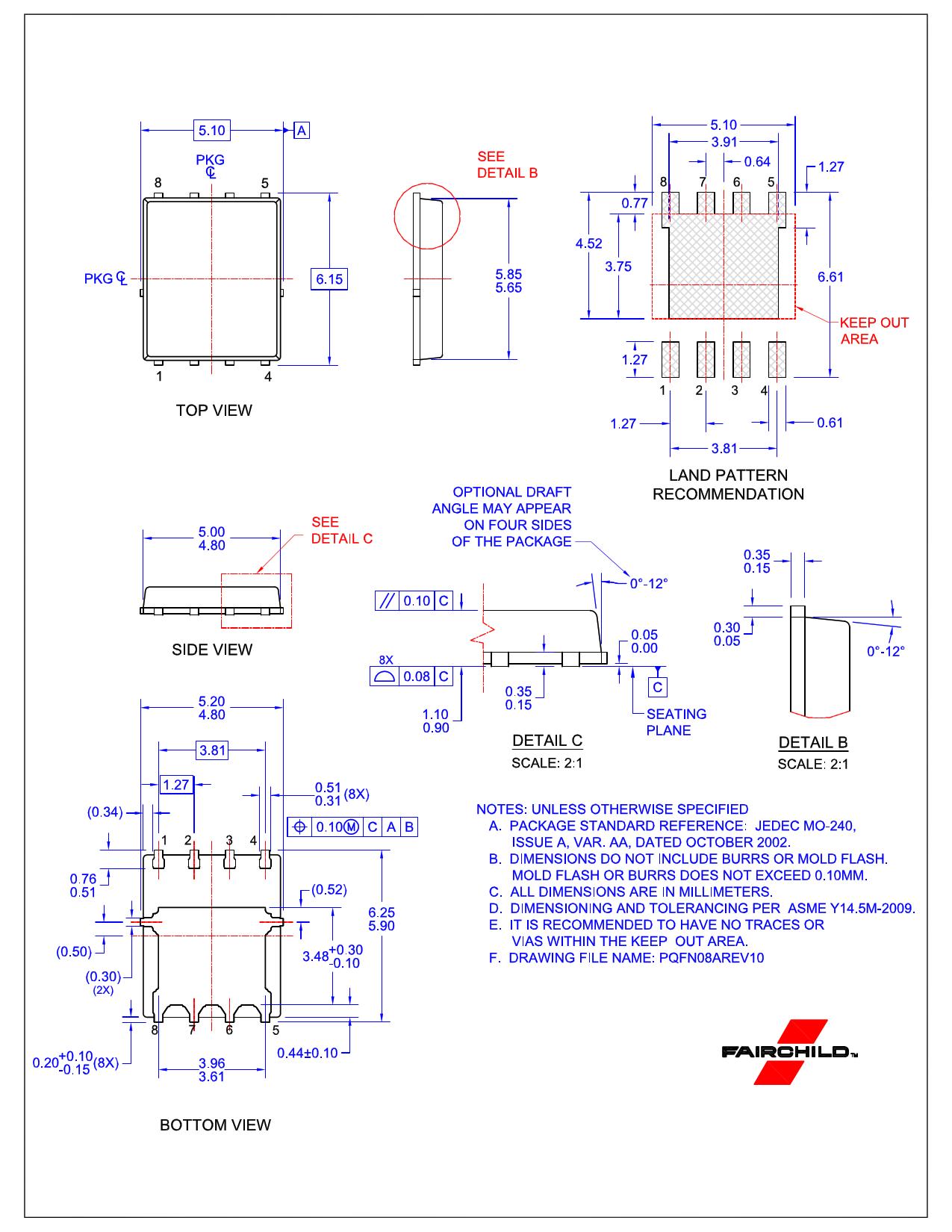 FDMS8570S 전자부품, 판매, 대치품