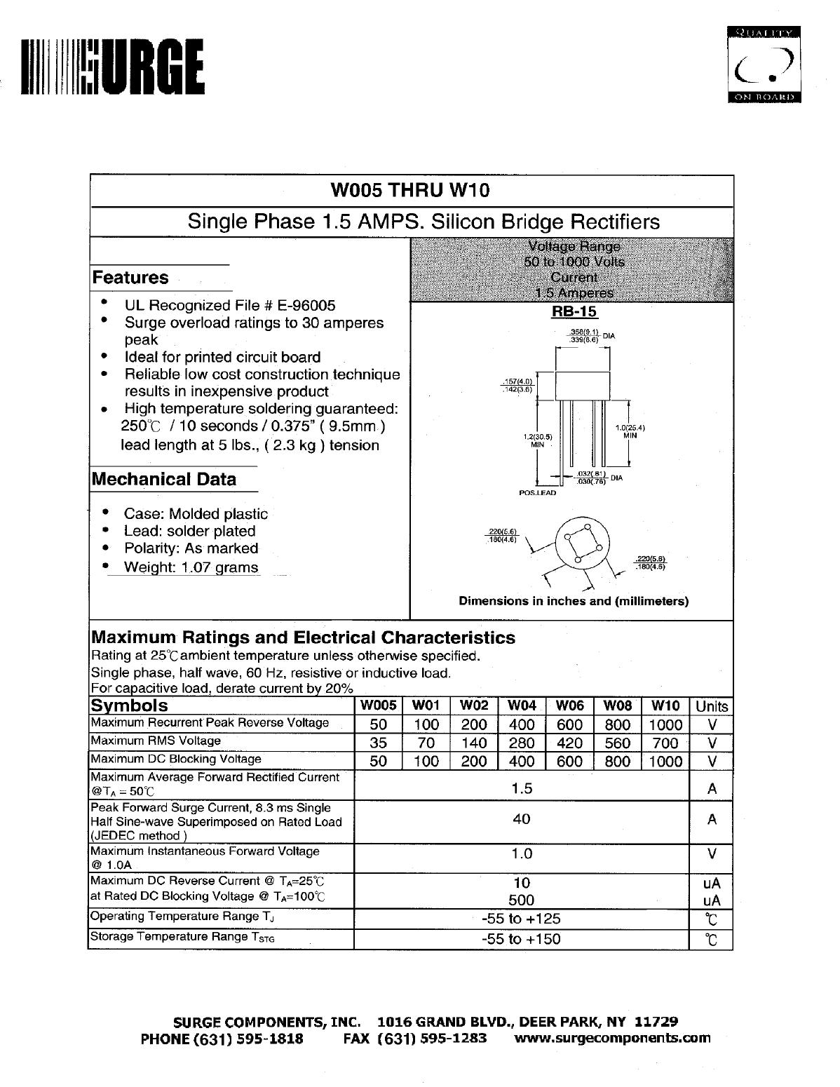 W02 دیتاشیت PDF