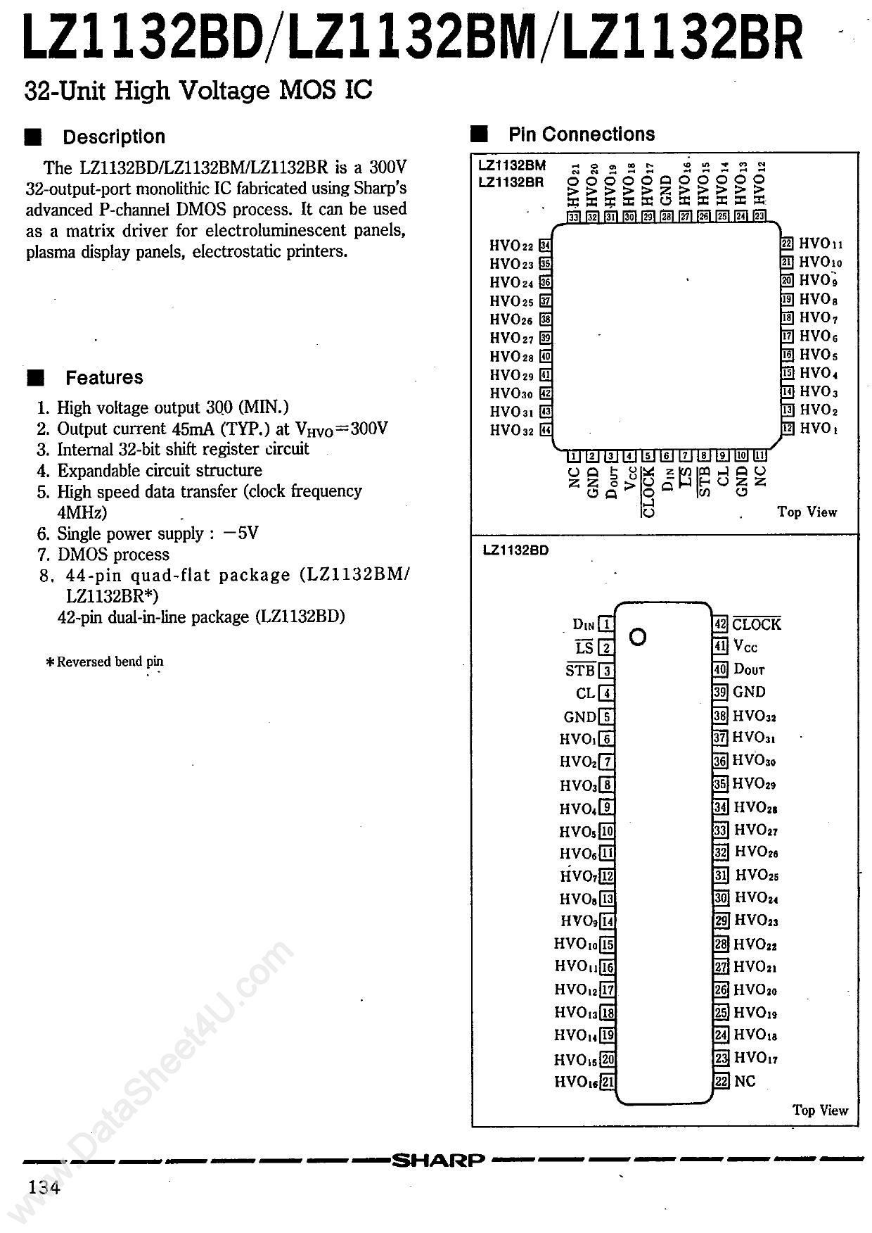 LZ1132 دیتاشیت PDF