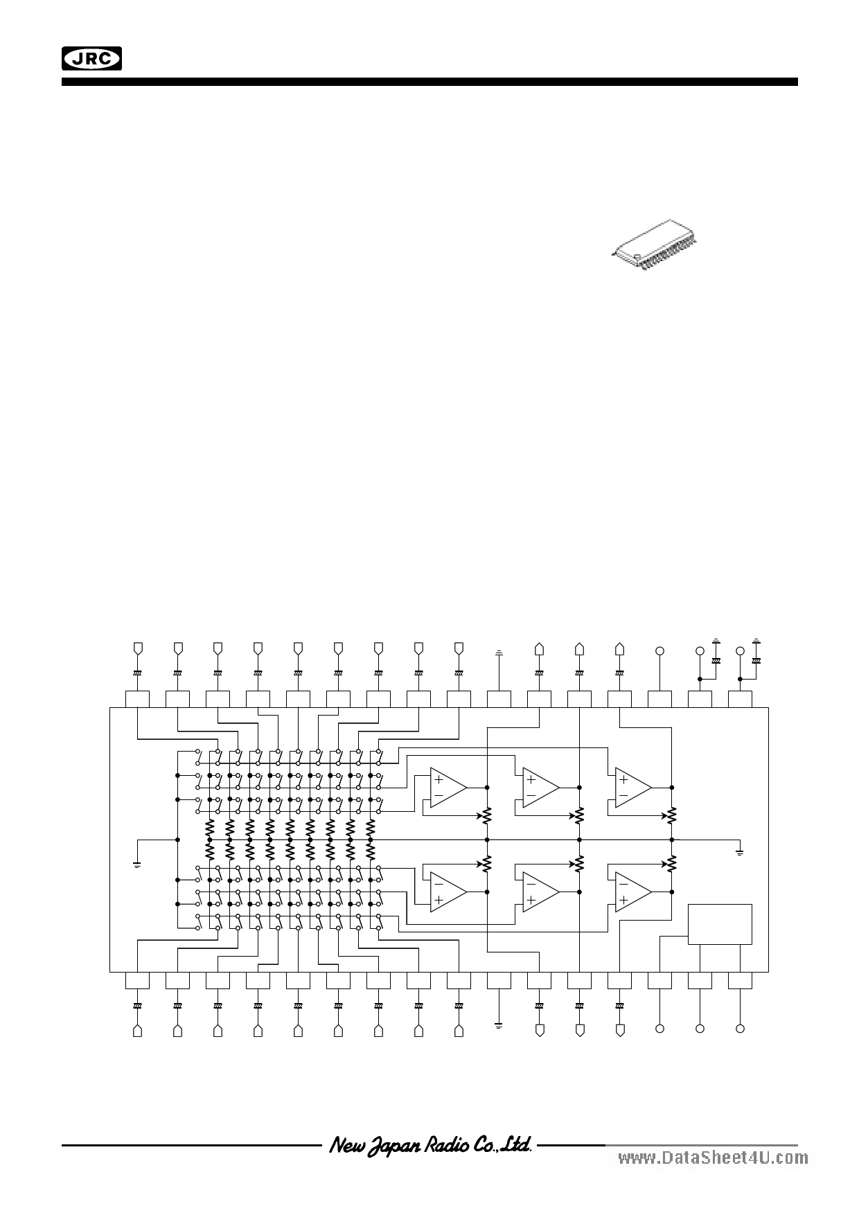 NJW1111 دیتاشیت PDF