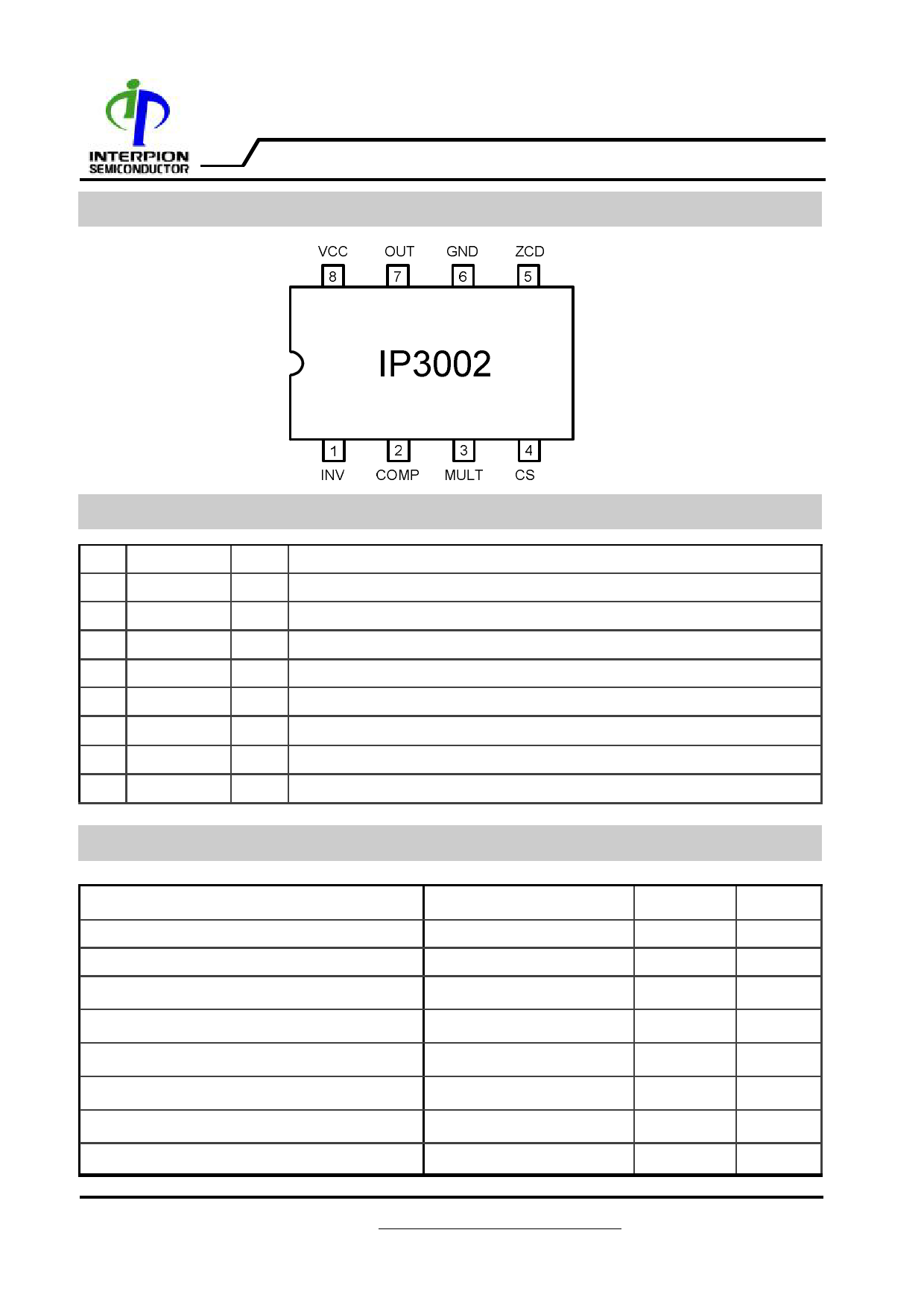 I3002 Даташит, Описание, Даташиты