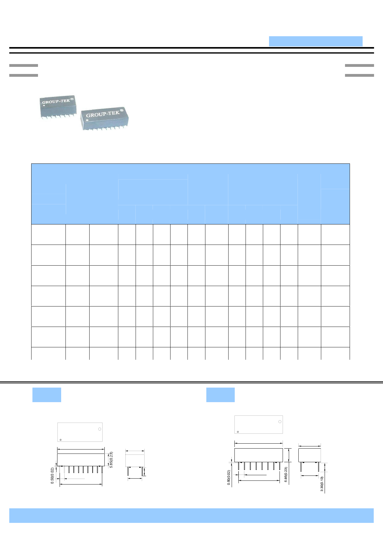 HST-2027DR datasheet pinout