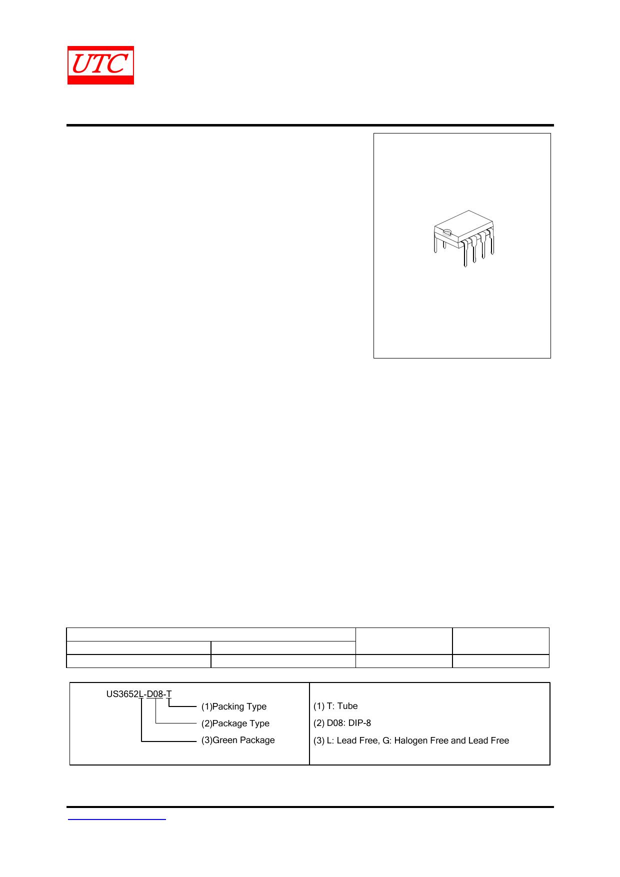 US3652 datasheet
