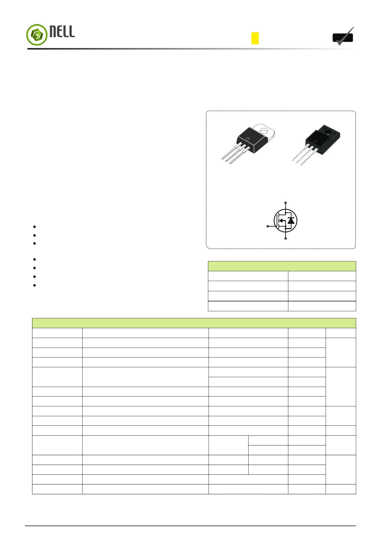 I2N65 datasheet