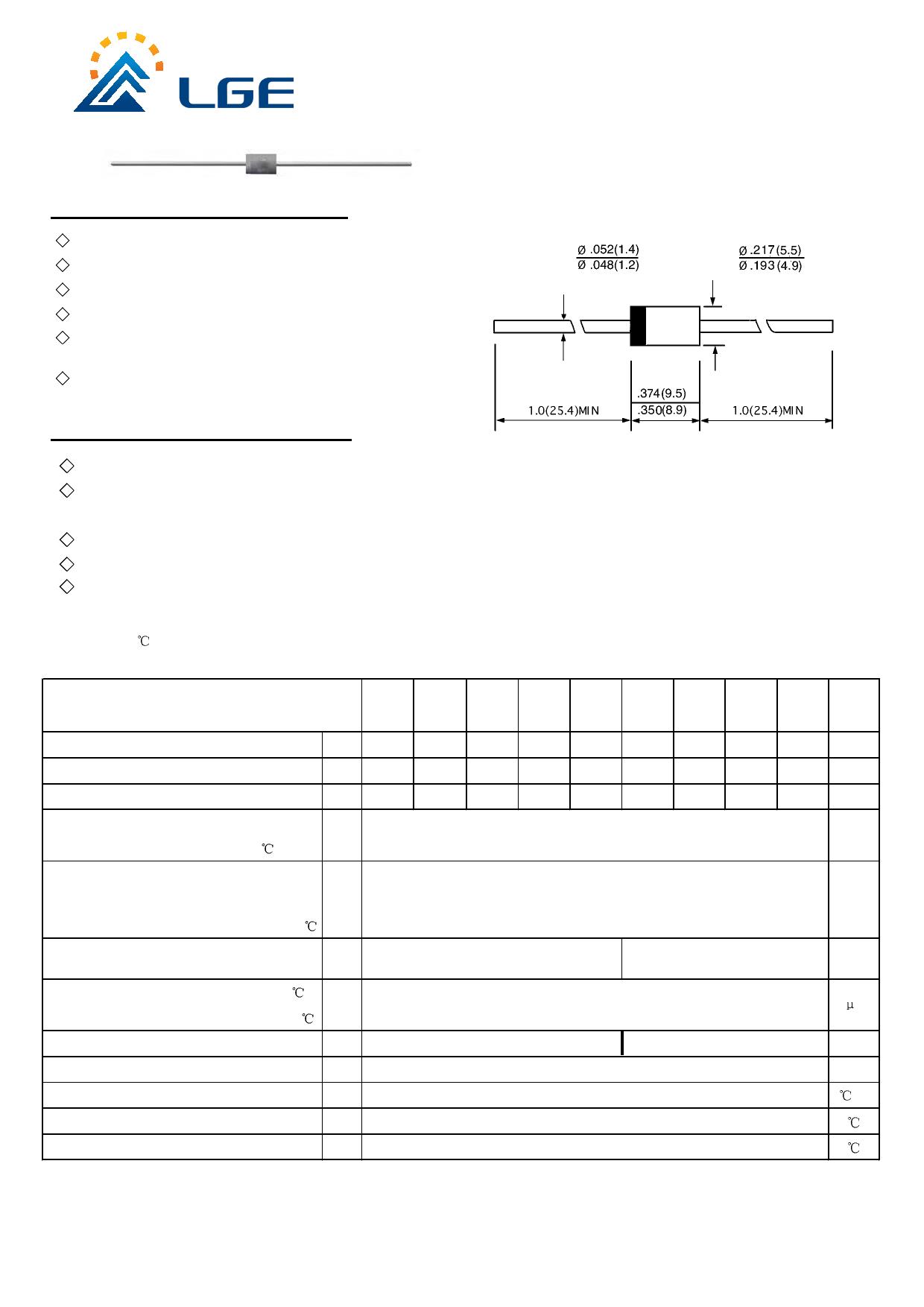 UF5403G datasheet