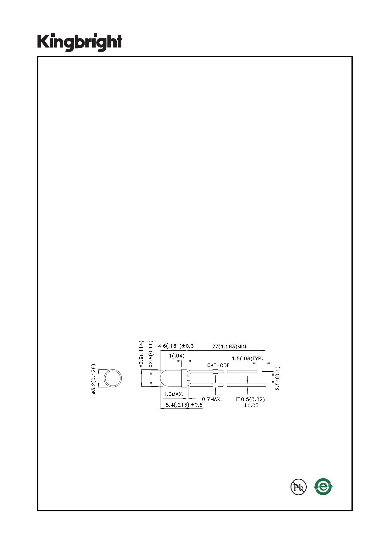 L-7104F3BT دیتاشیت PDF