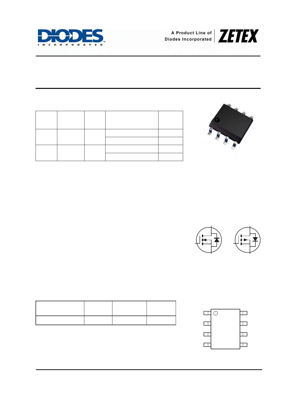ZXMC3F31DN8 datasheet