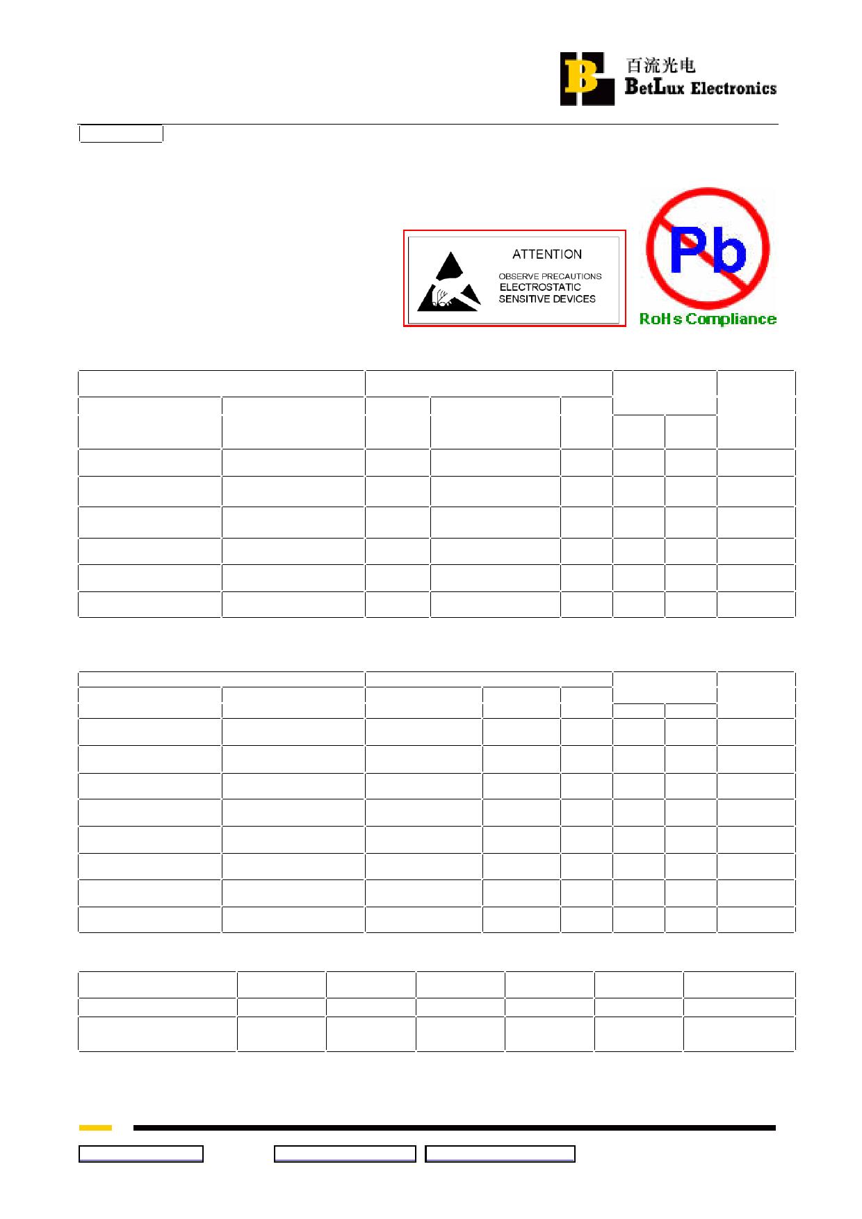 BL-T52B-31UG دیتاشیت PDF