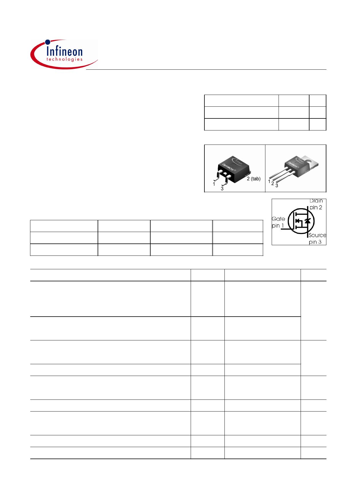 10N03L datasheet pinout