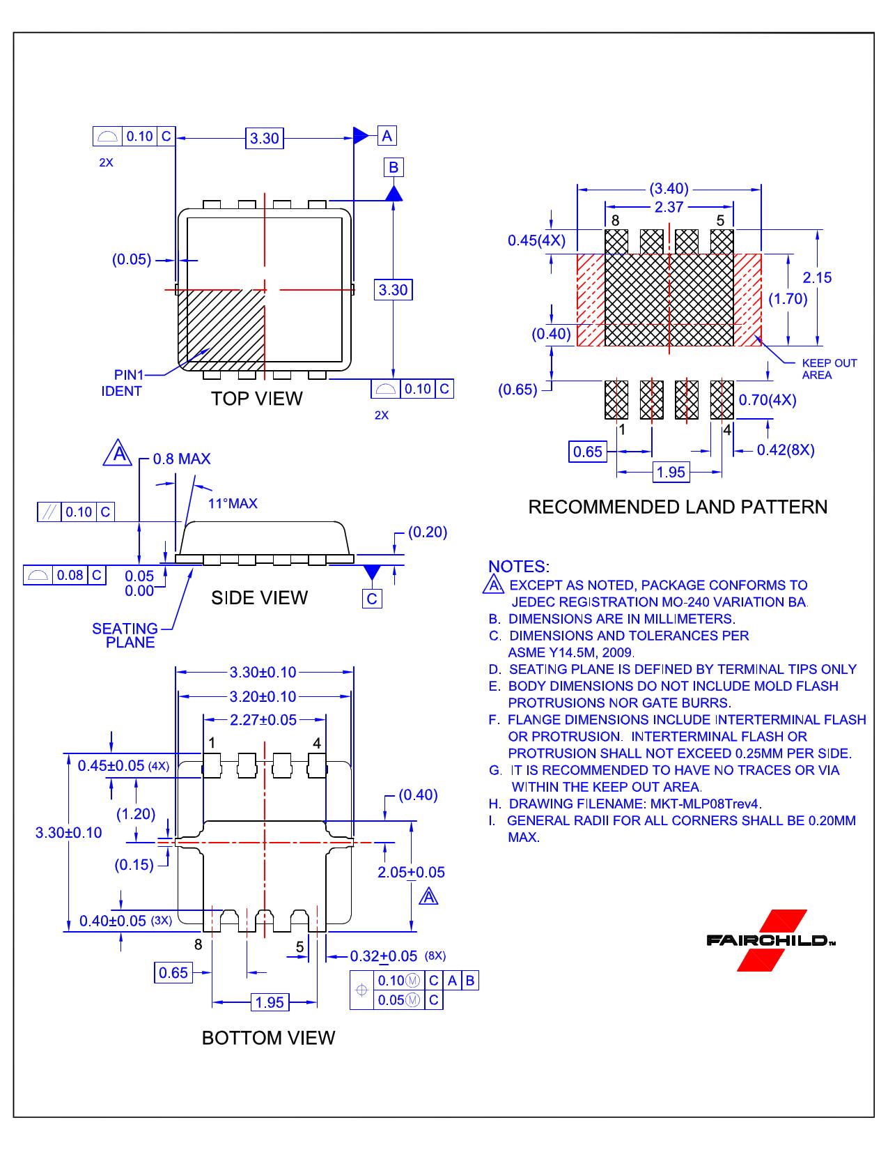 FDMC0310AS 전자부품, 판매, 대치품
