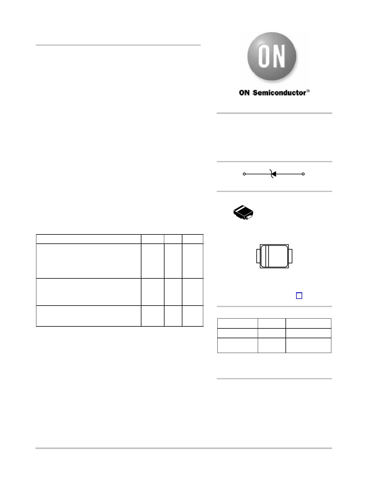 1SMB5914BT3 datasheet