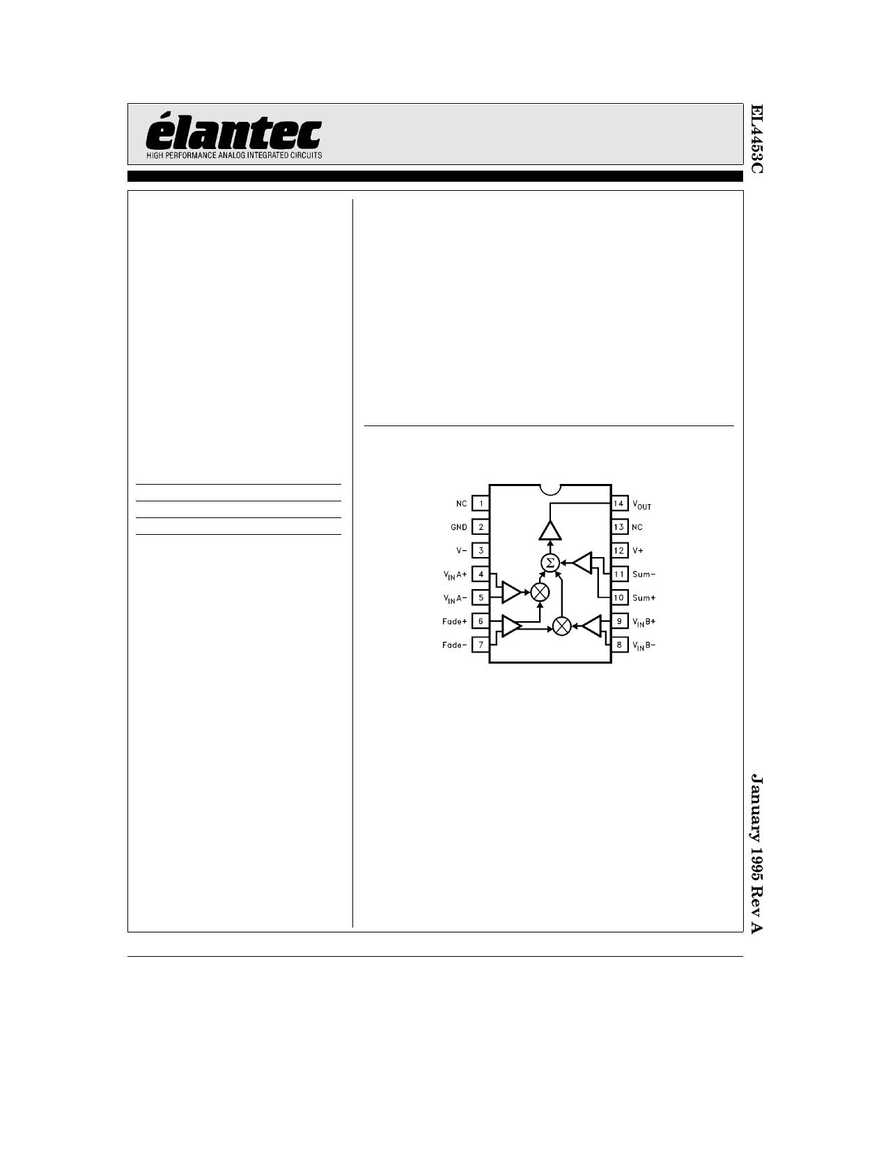 EL4453 دیتاشیت PDF