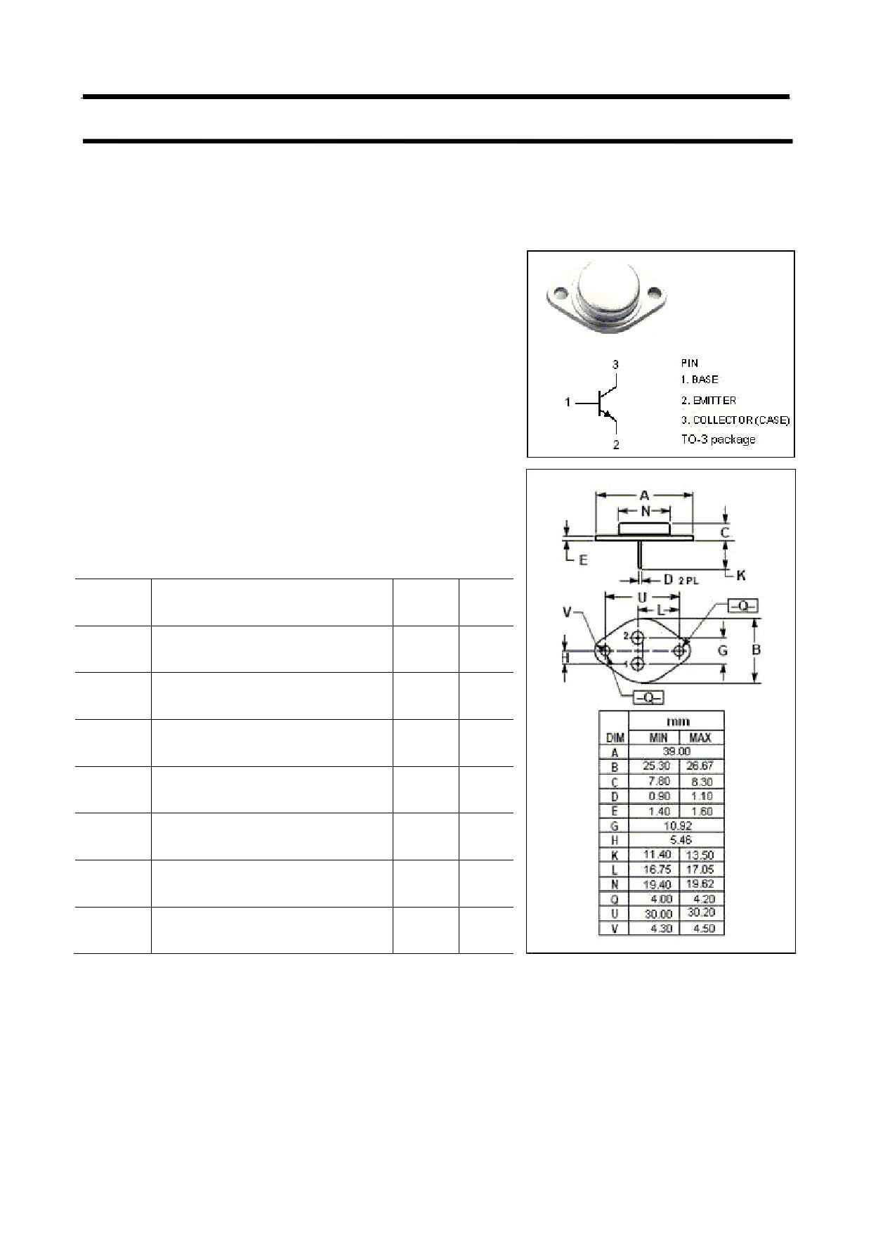 2N1470 datasheet