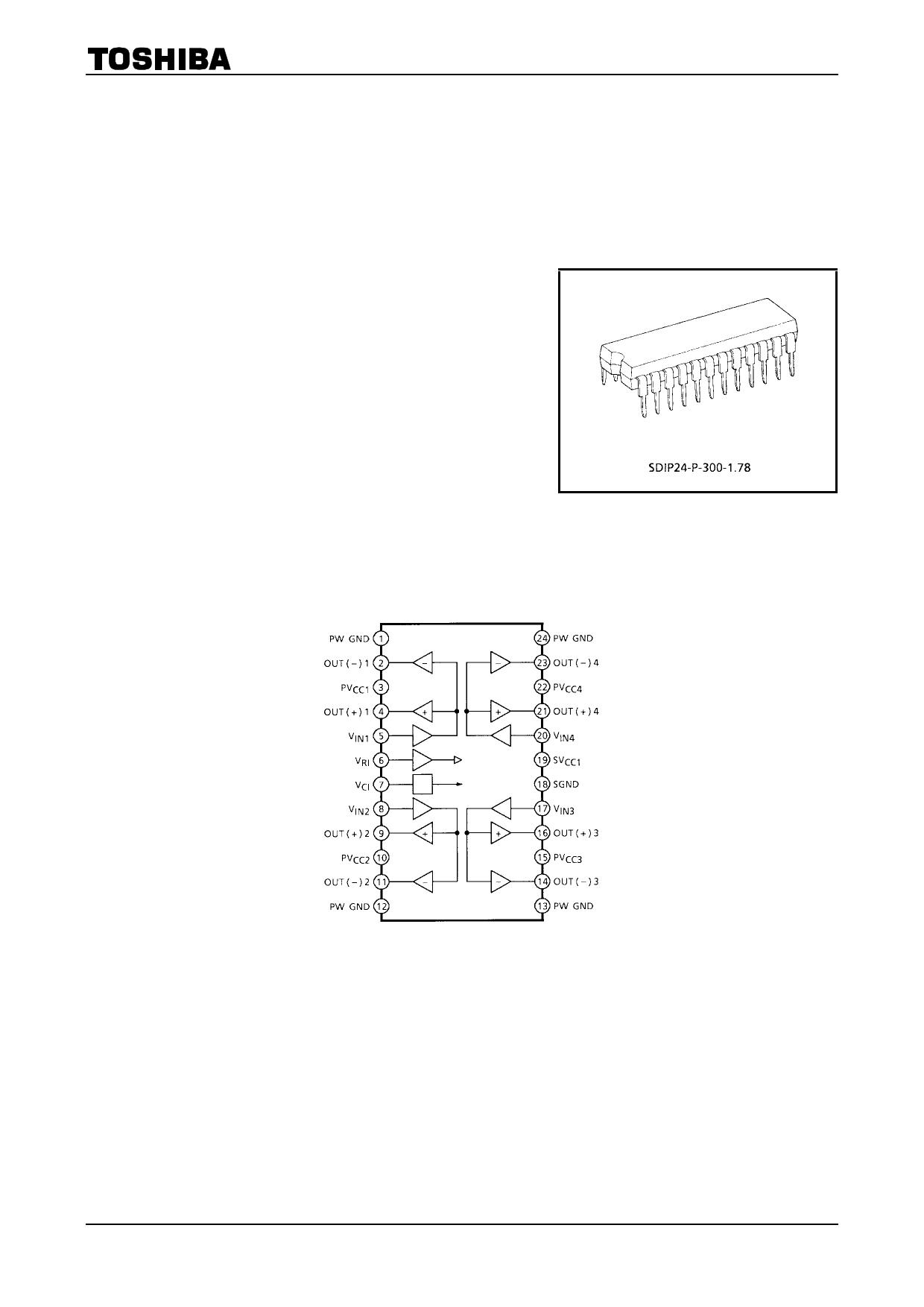 TA2092N دیتاشیت PDF