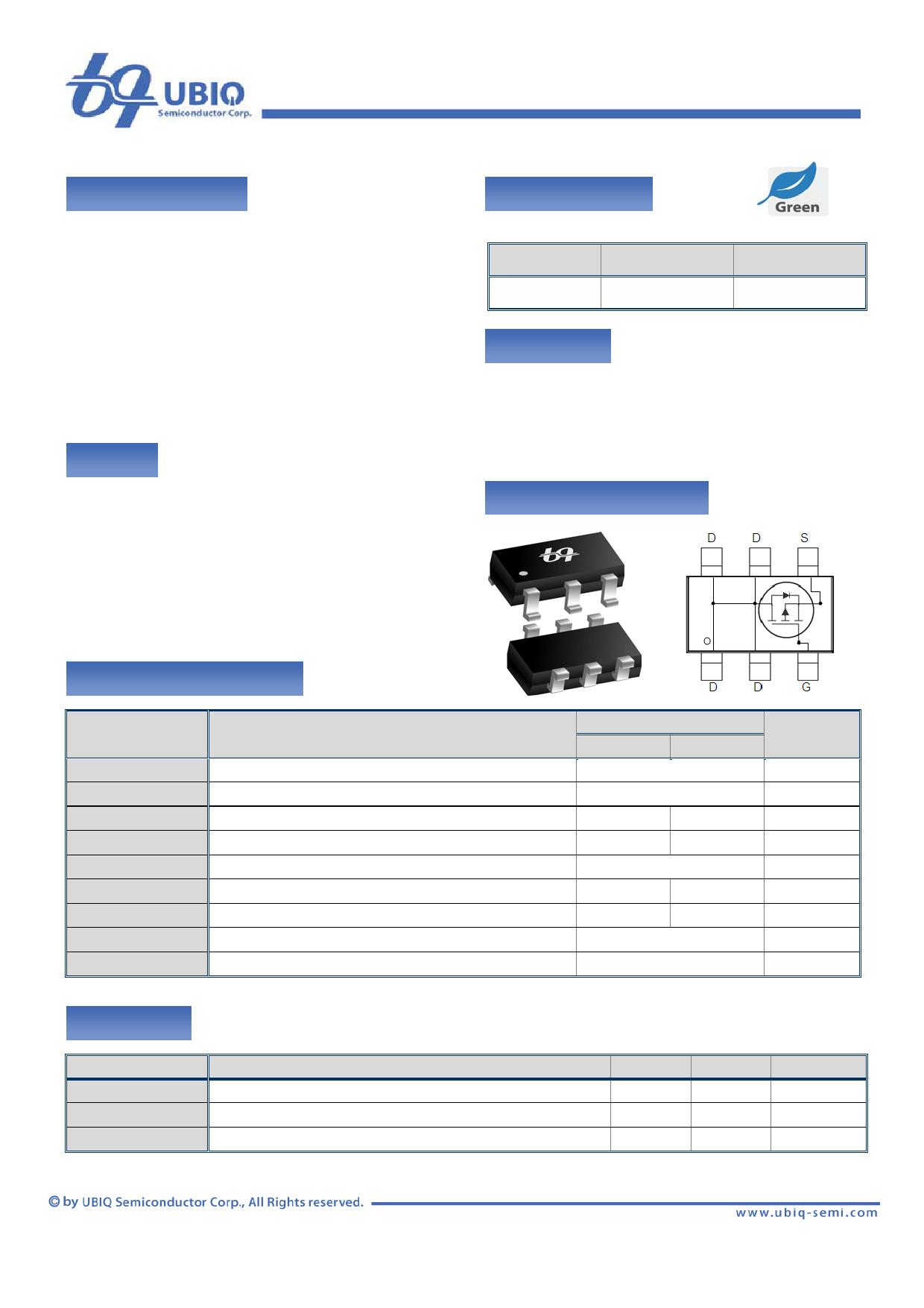 QM3001V Datenblatt PDF