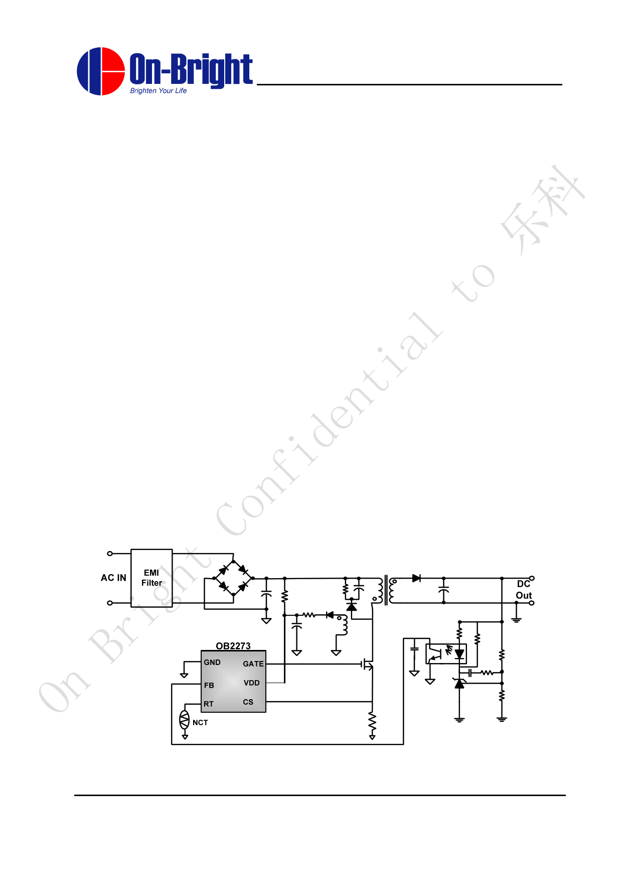 OB2273 datasheet