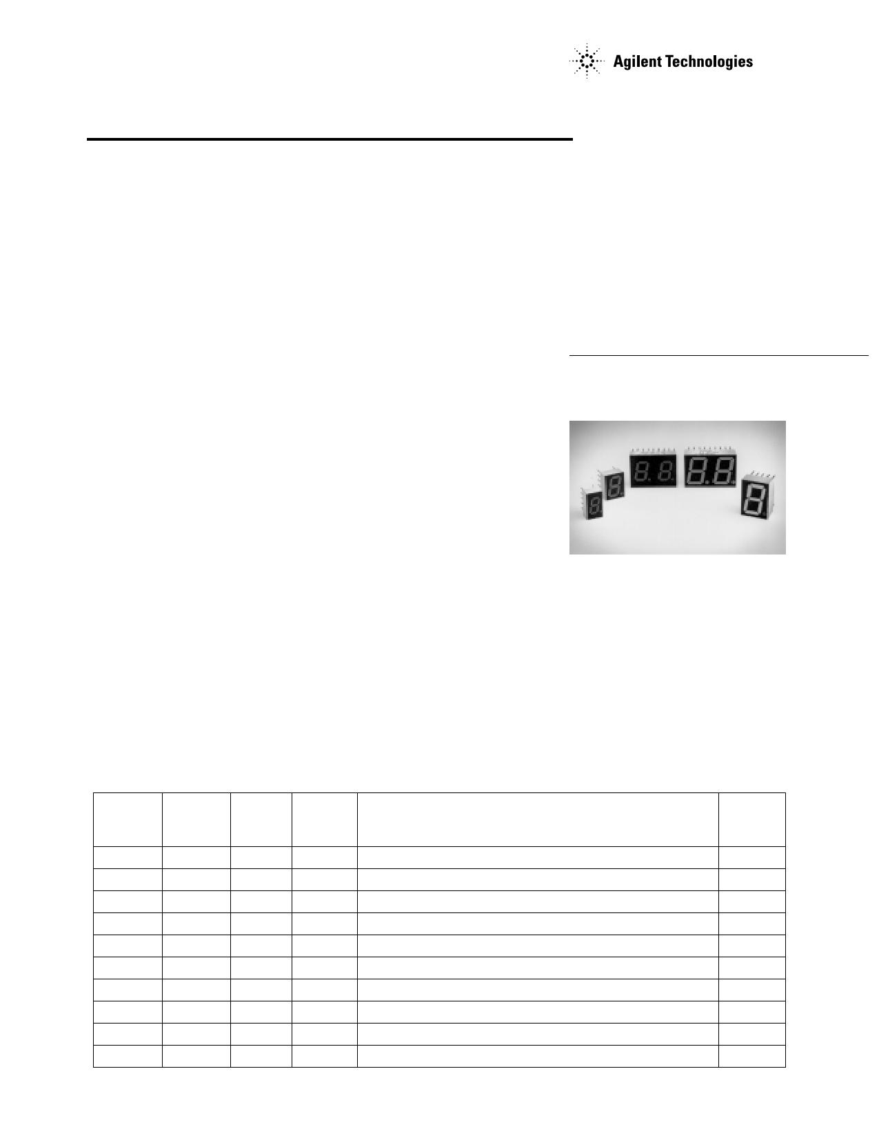 HDSP-K213 دیتاشیت PDF