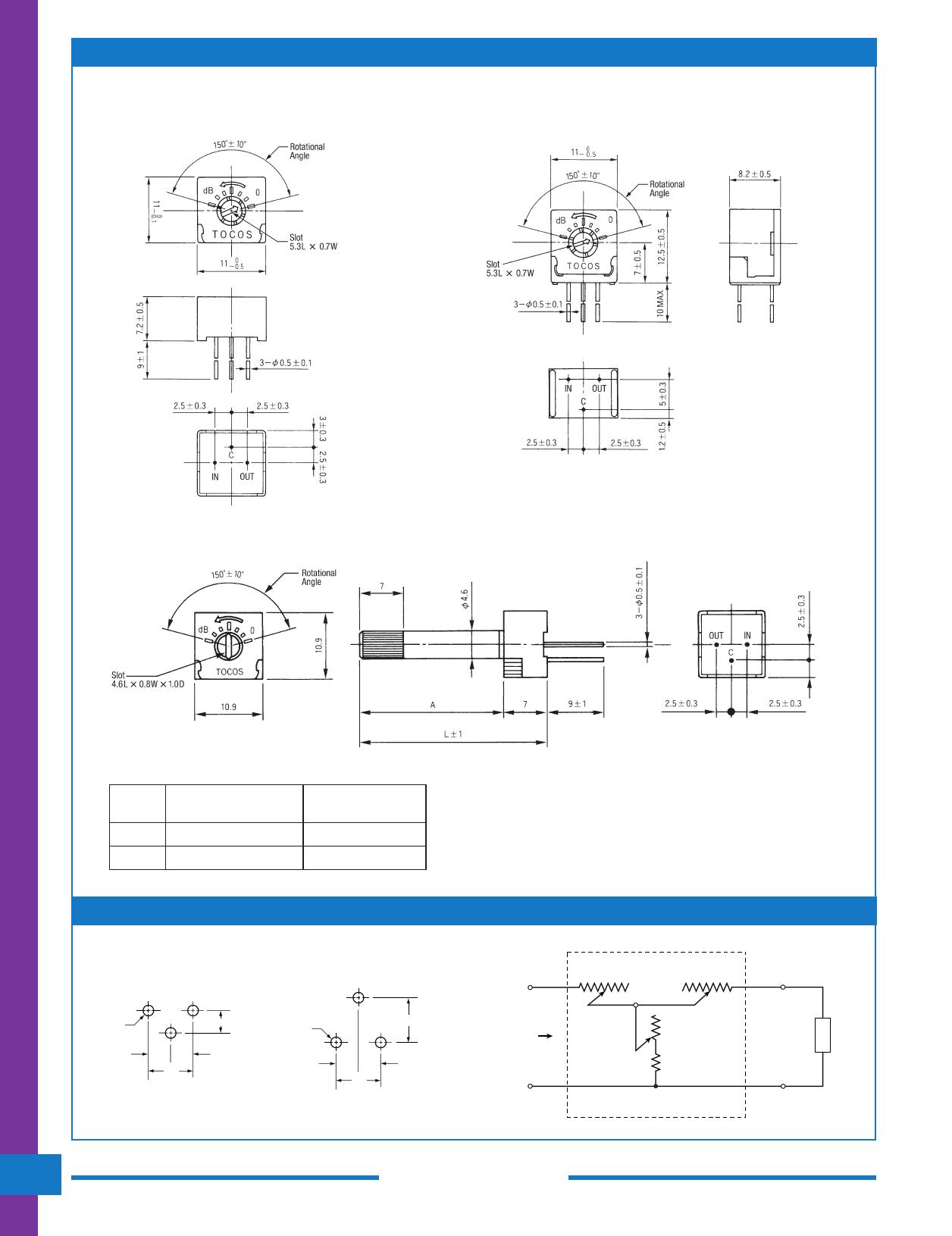 AT10 pdf, ピン配列