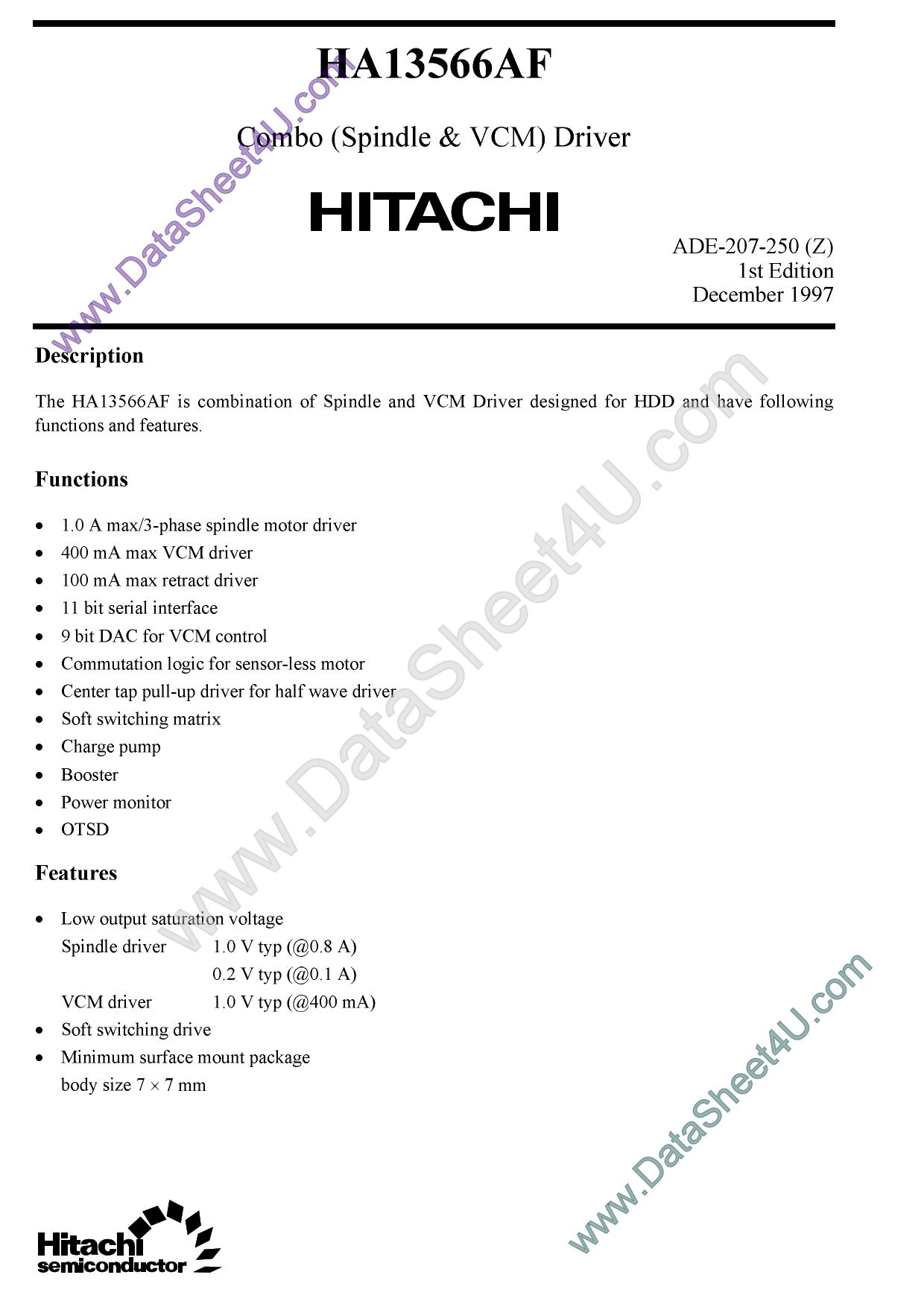 HA13556AF دیتاشیت PDF
