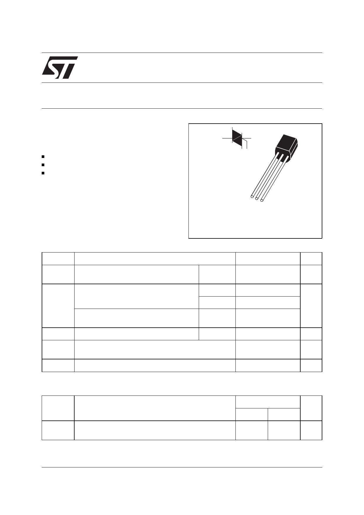 Z00607DA даташит PDF